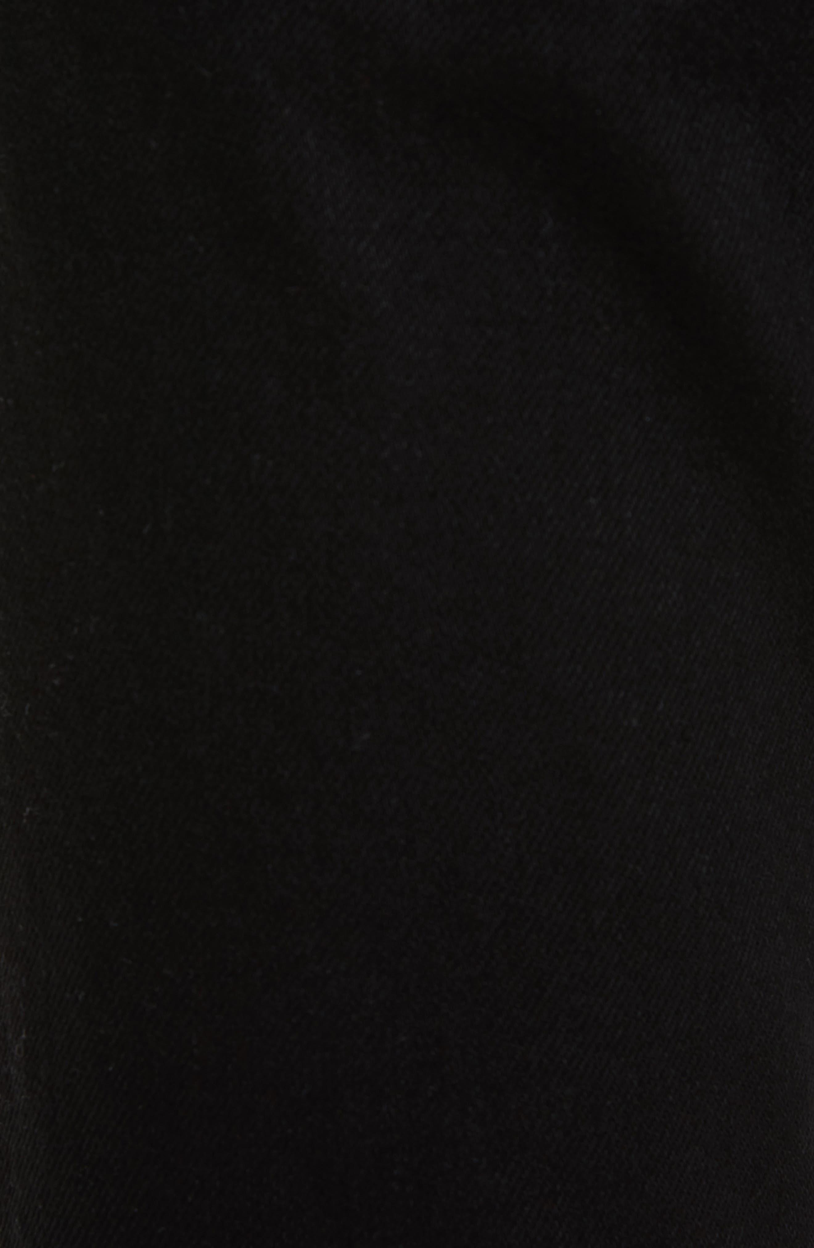 VERSUS by Versace Lion Slim Fit Jeans,                             Alternate thumbnail 5, color,                             Black