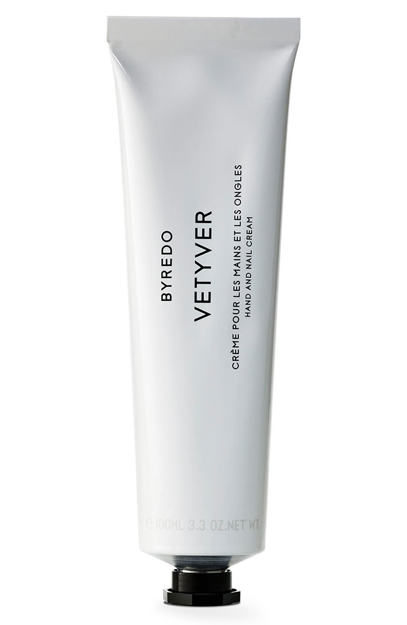 Vetyver Hand Cream,                             Main thumbnail 1, color,                             No Color