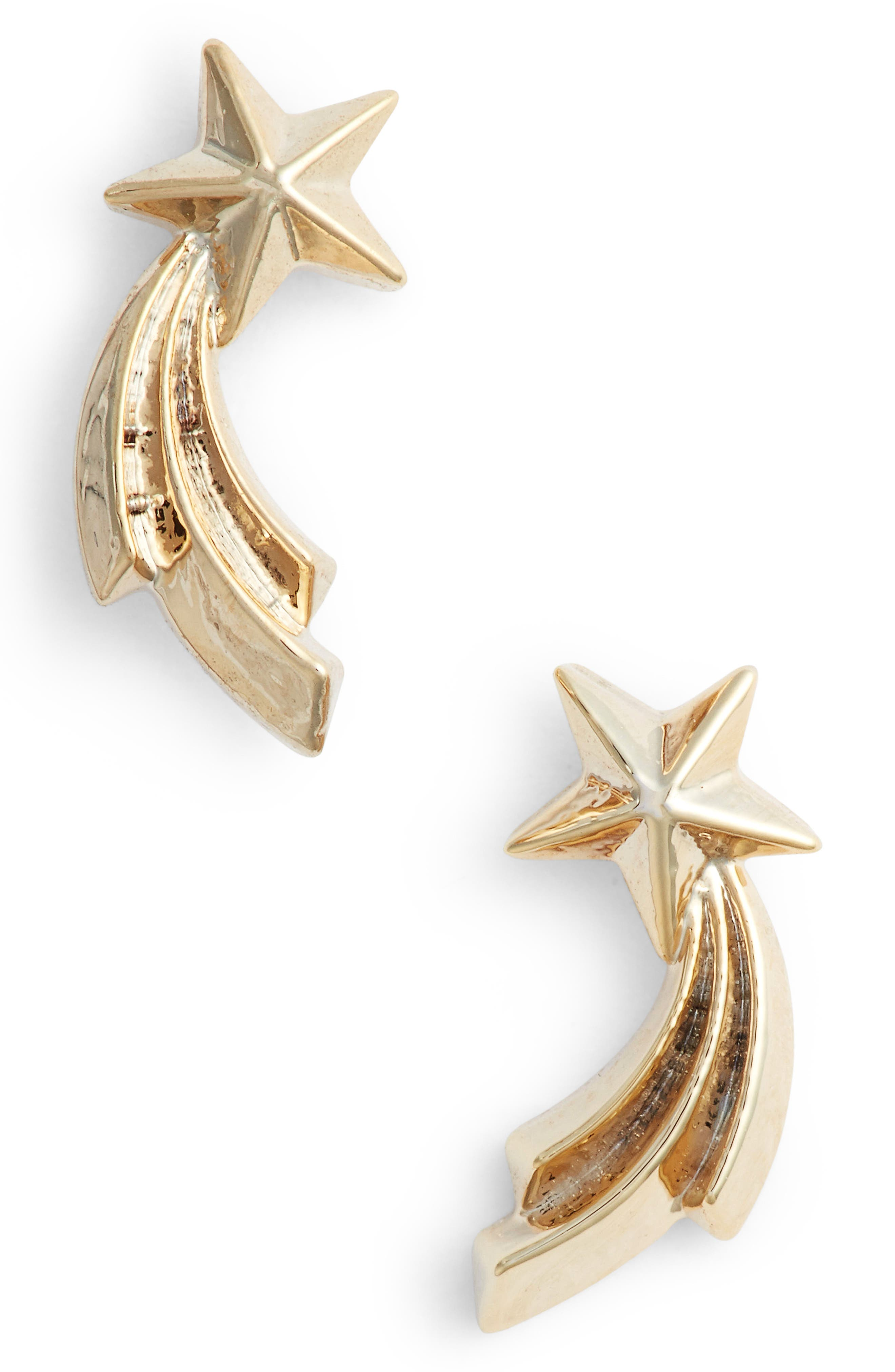 Alternate Image 1 Selected - Estella Bartlett Shooting Star Stud Earrings