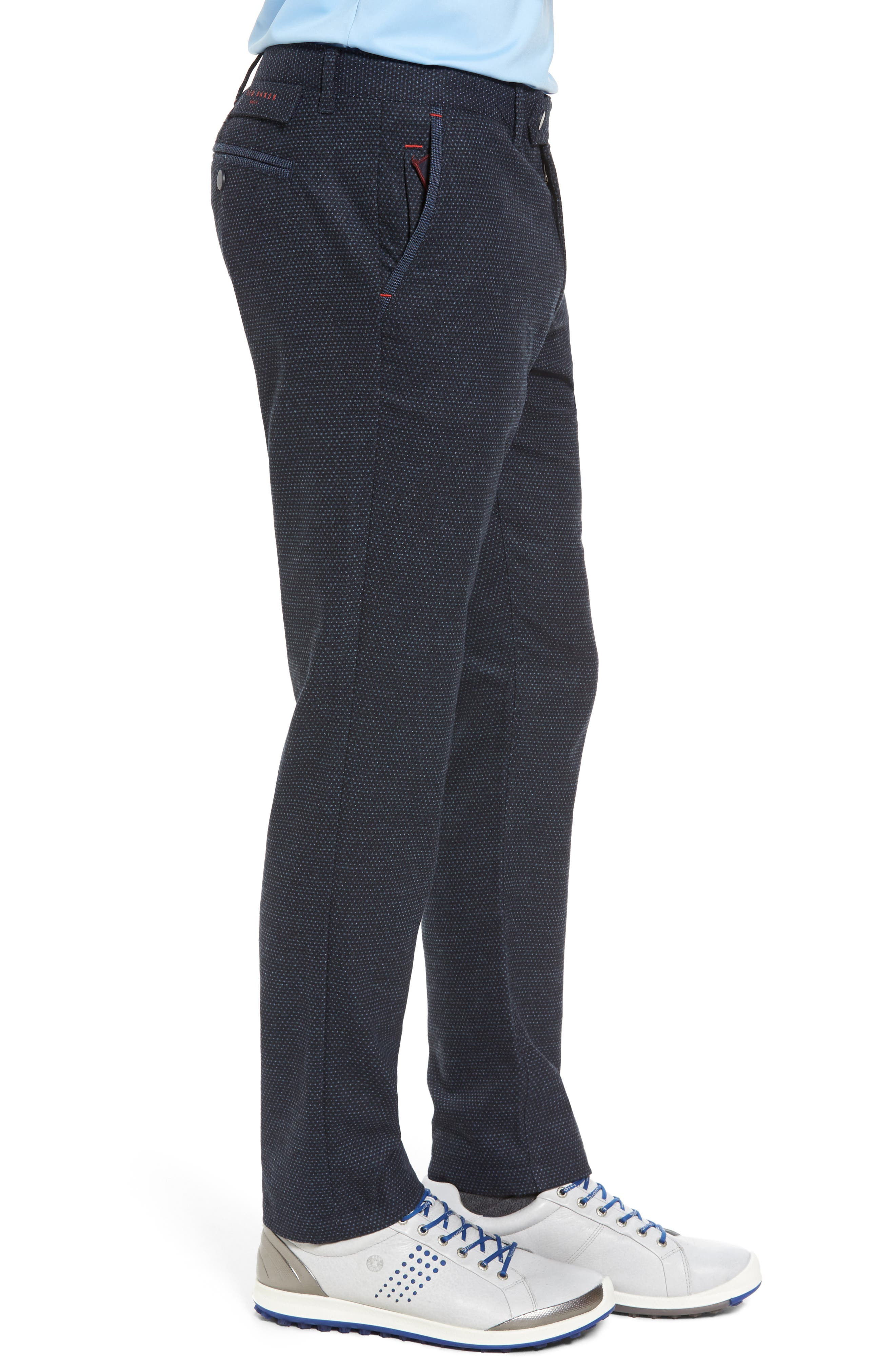 Water Resistant Golf Trousers,                             Alternate thumbnail 3, color,                             Navy