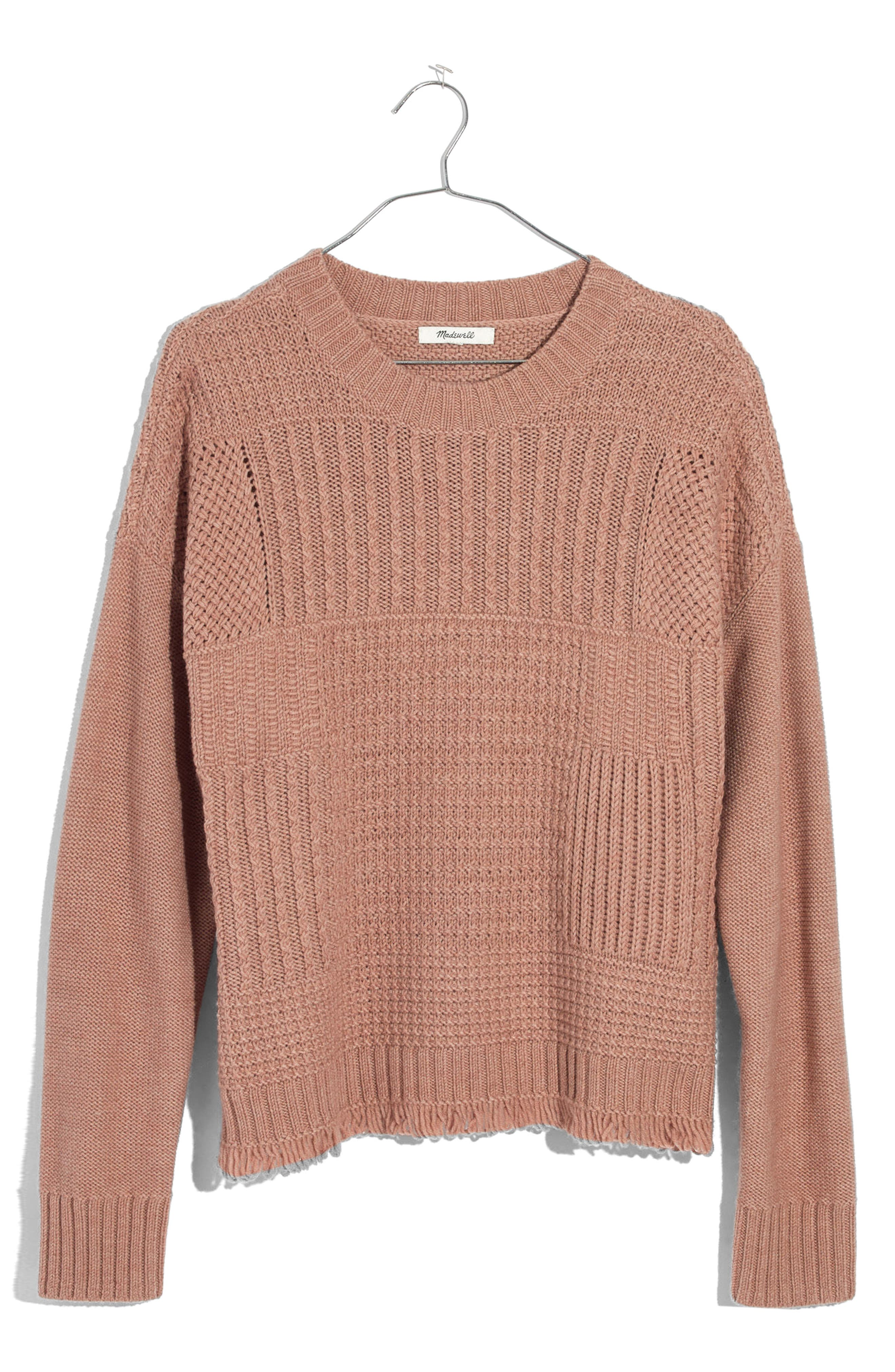 Madewell Stitchmix Pullover