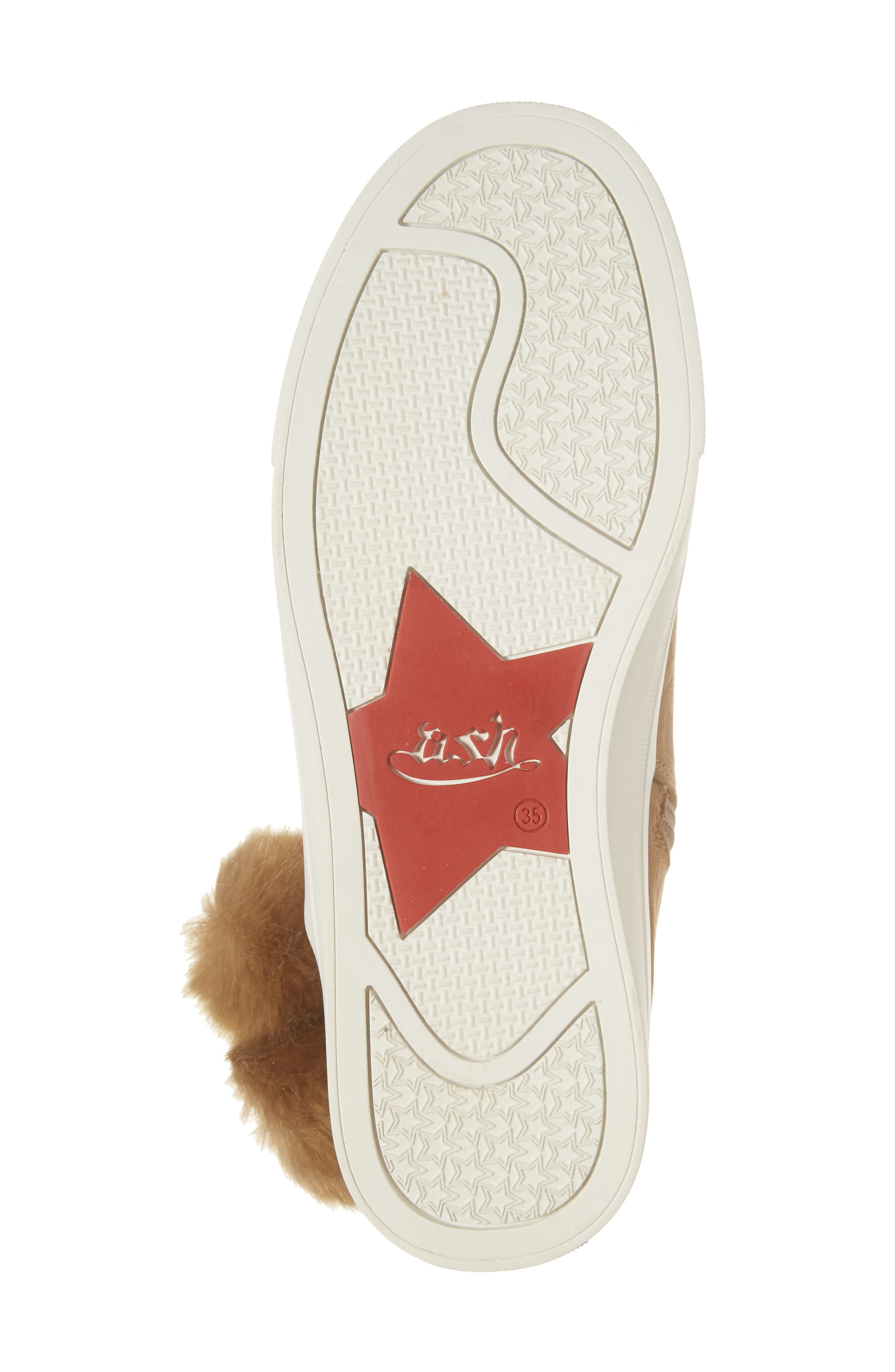 Alternate Image 6  - Ash Lynn Faux Fur Pom Sneaker Boot (Toddler, Little Kid & Big Kid)