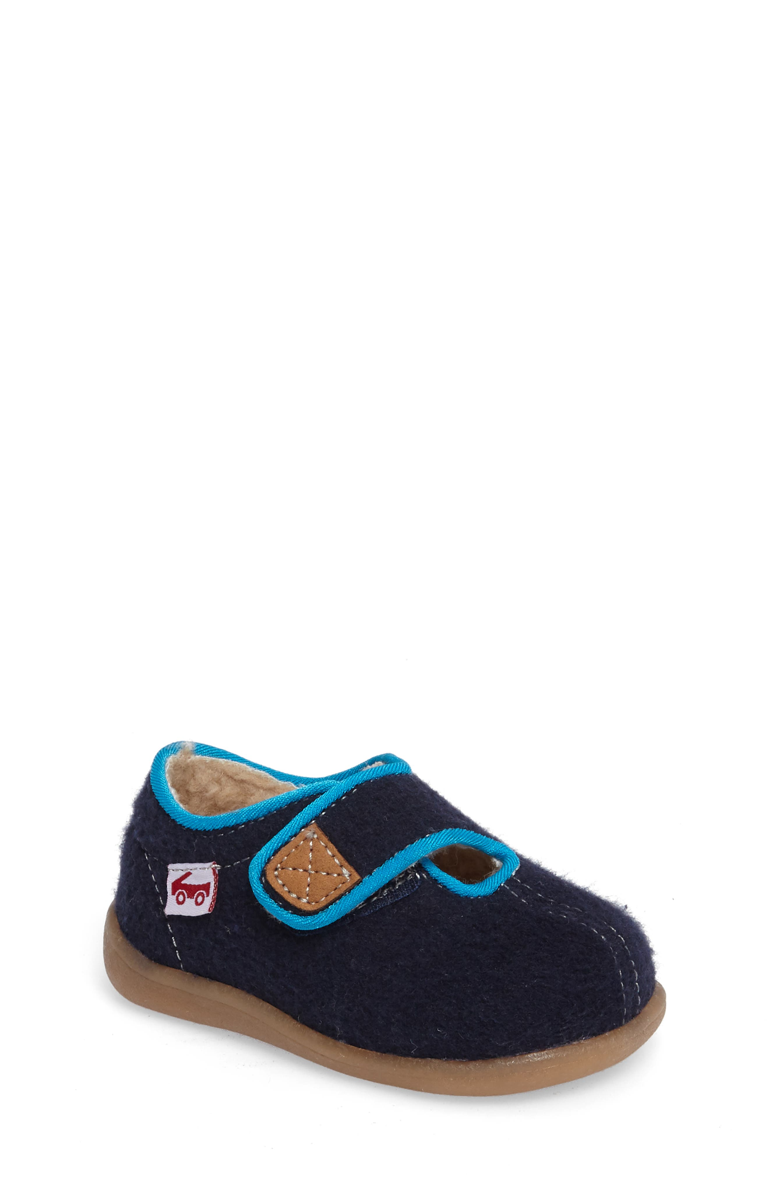 Cruz Slipper,                             Main thumbnail 1, color,                             Navy
