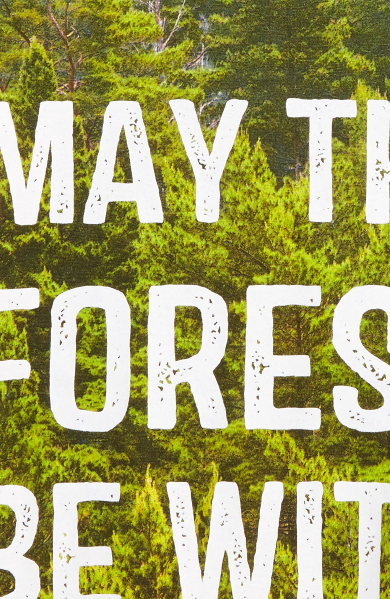 May the Forest Be With You T-Shirt,                             Alternate thumbnail 2, color,                             May The Forest Be With You