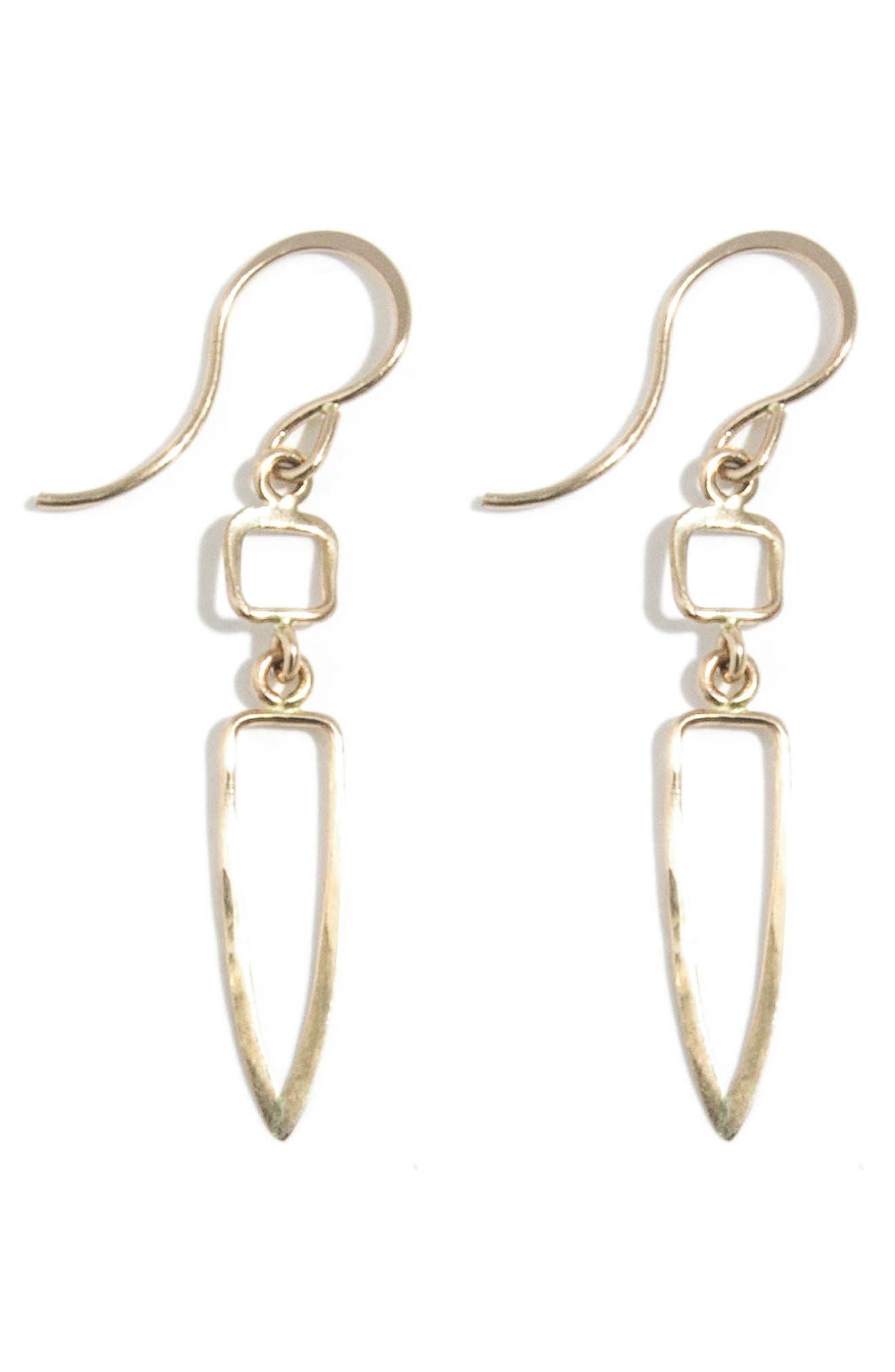 Melissa Joy Manning Double Drop Earrings