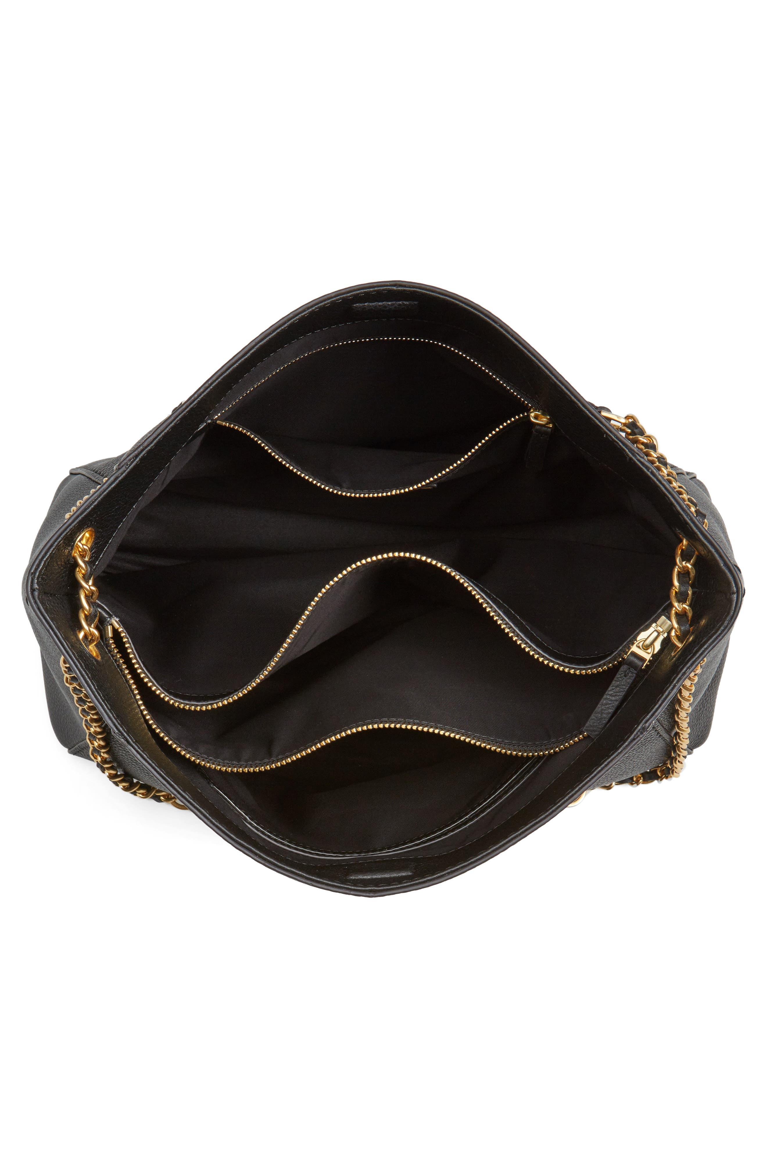 Alternate Image 4  - Tory Burch McGraw Slouchy Leather Shoulder Bag