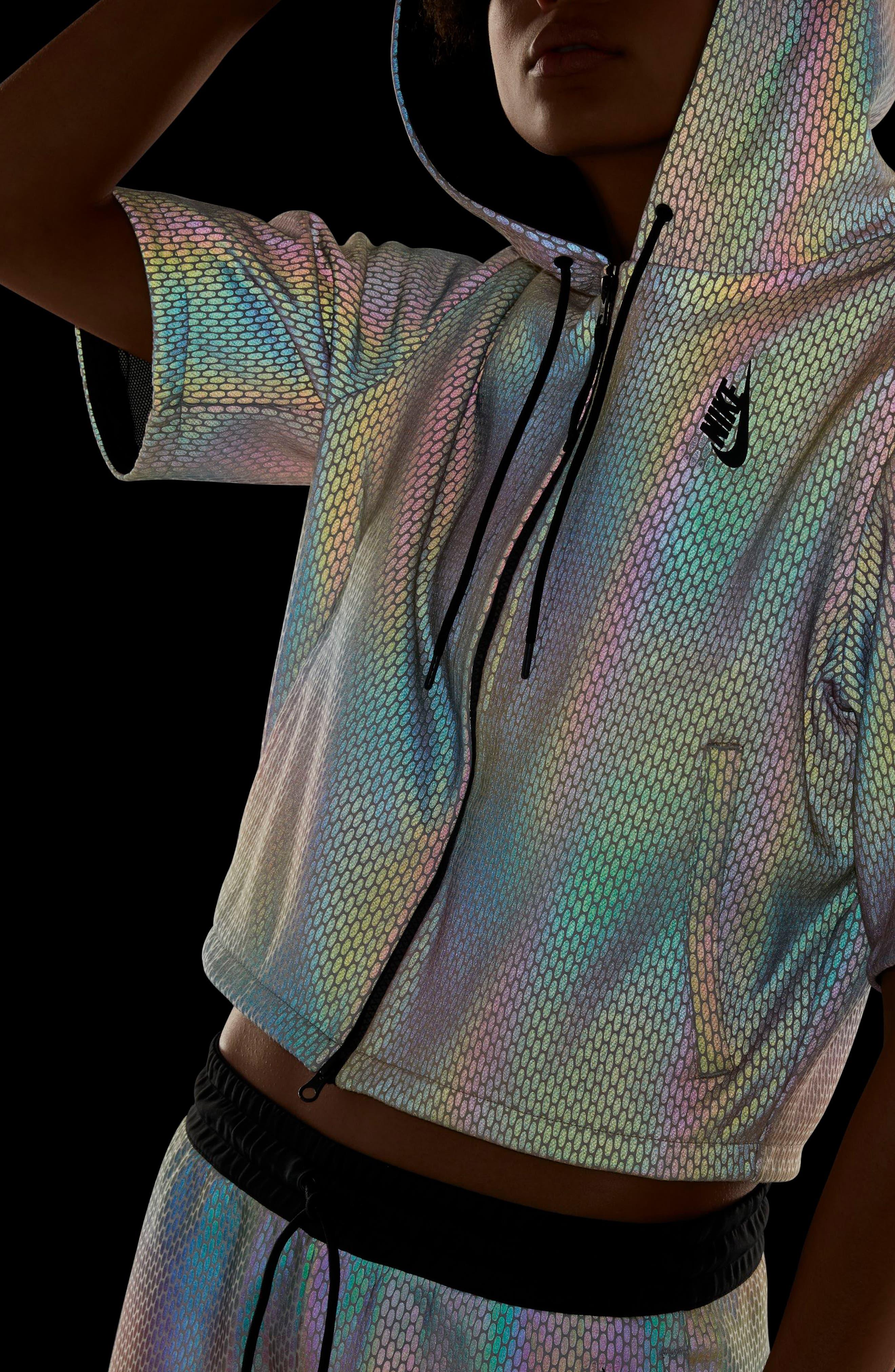 Alternate Image 10  - Nike NikeLab Oil Slick Hoodie