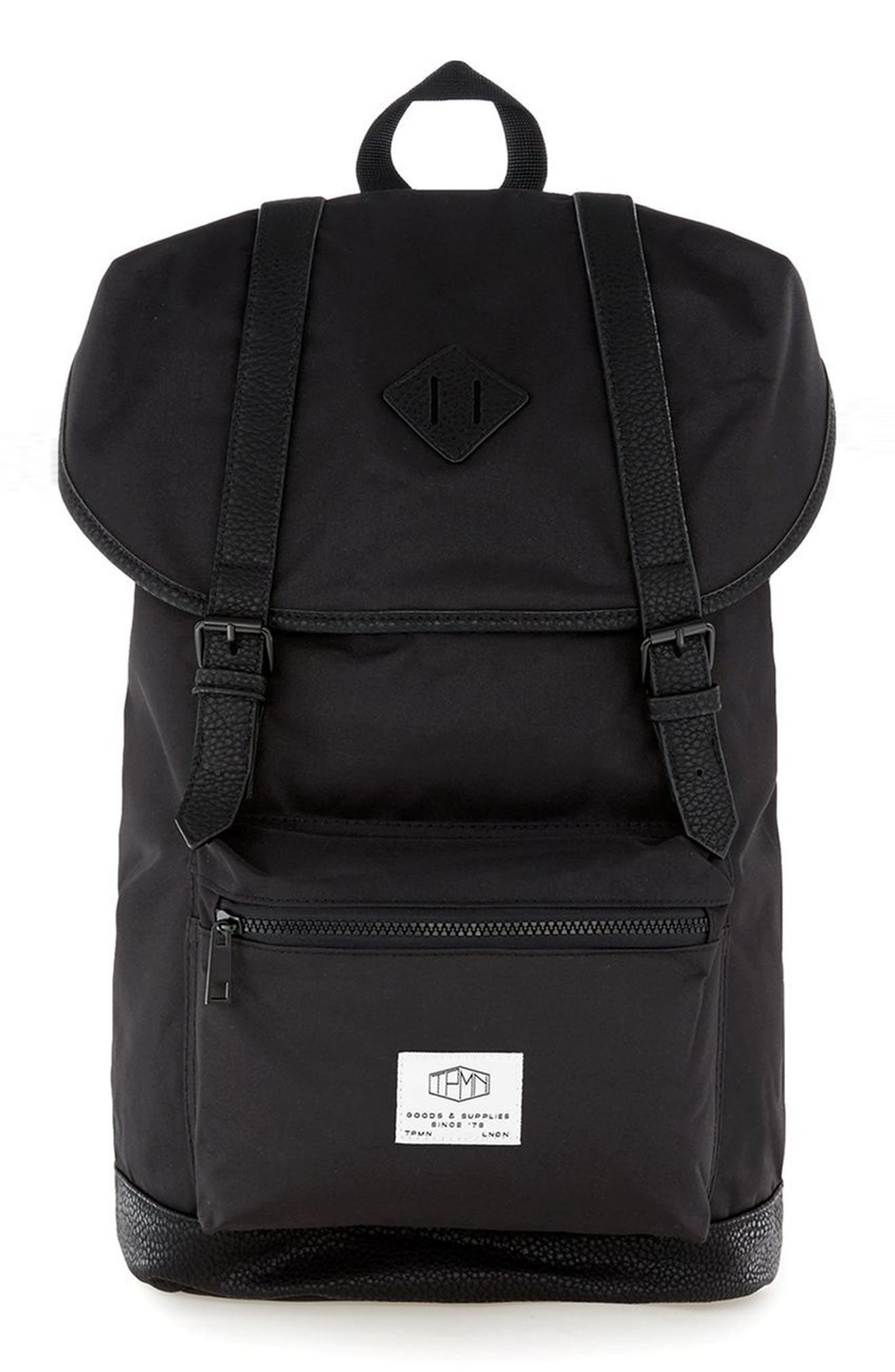 Explorer Backpack,                             Main thumbnail 1, color,                             Black