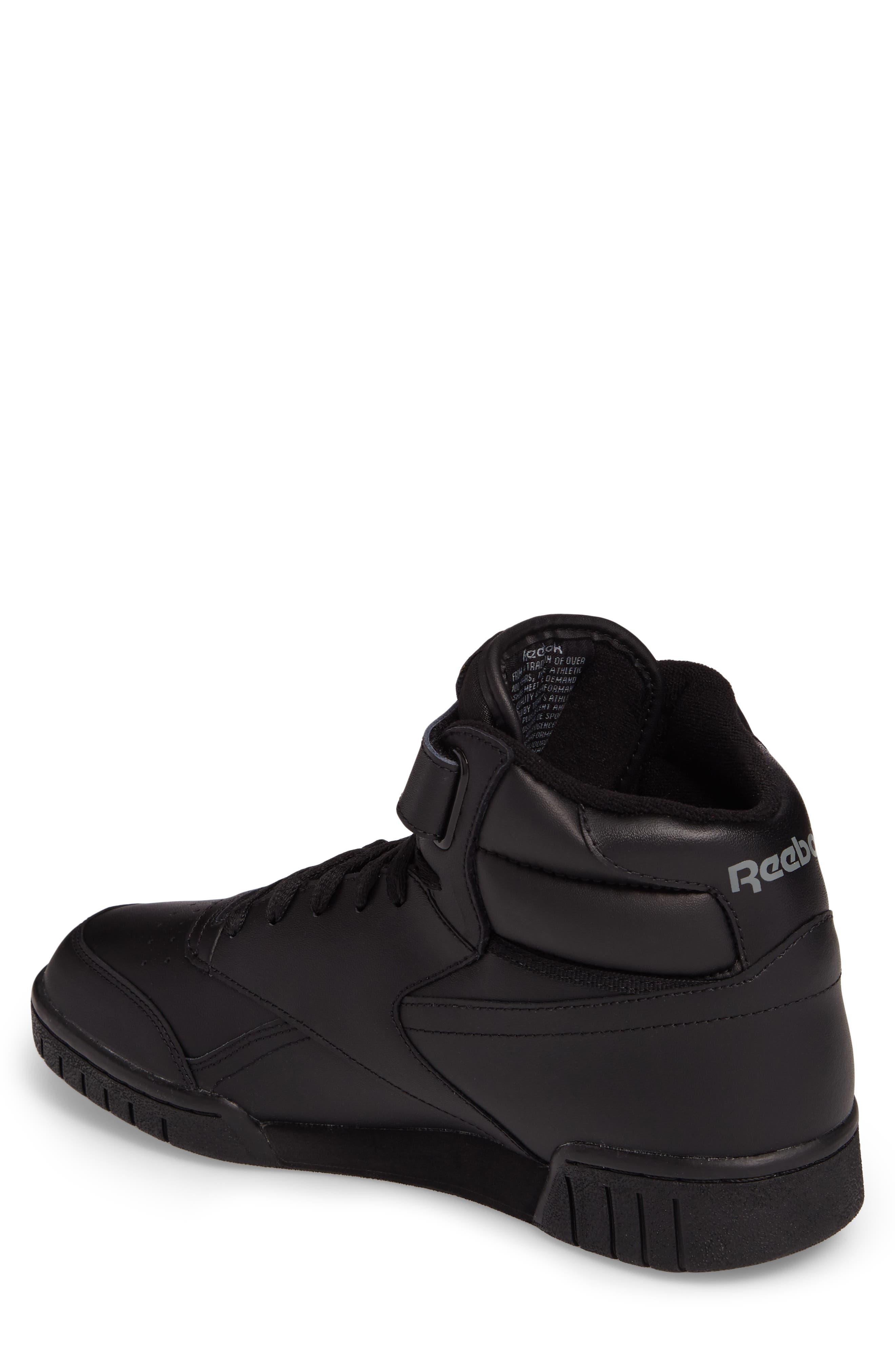 Ex-O-Fit Hi Sneaker,                             Alternate thumbnail 2, color,                             Black
