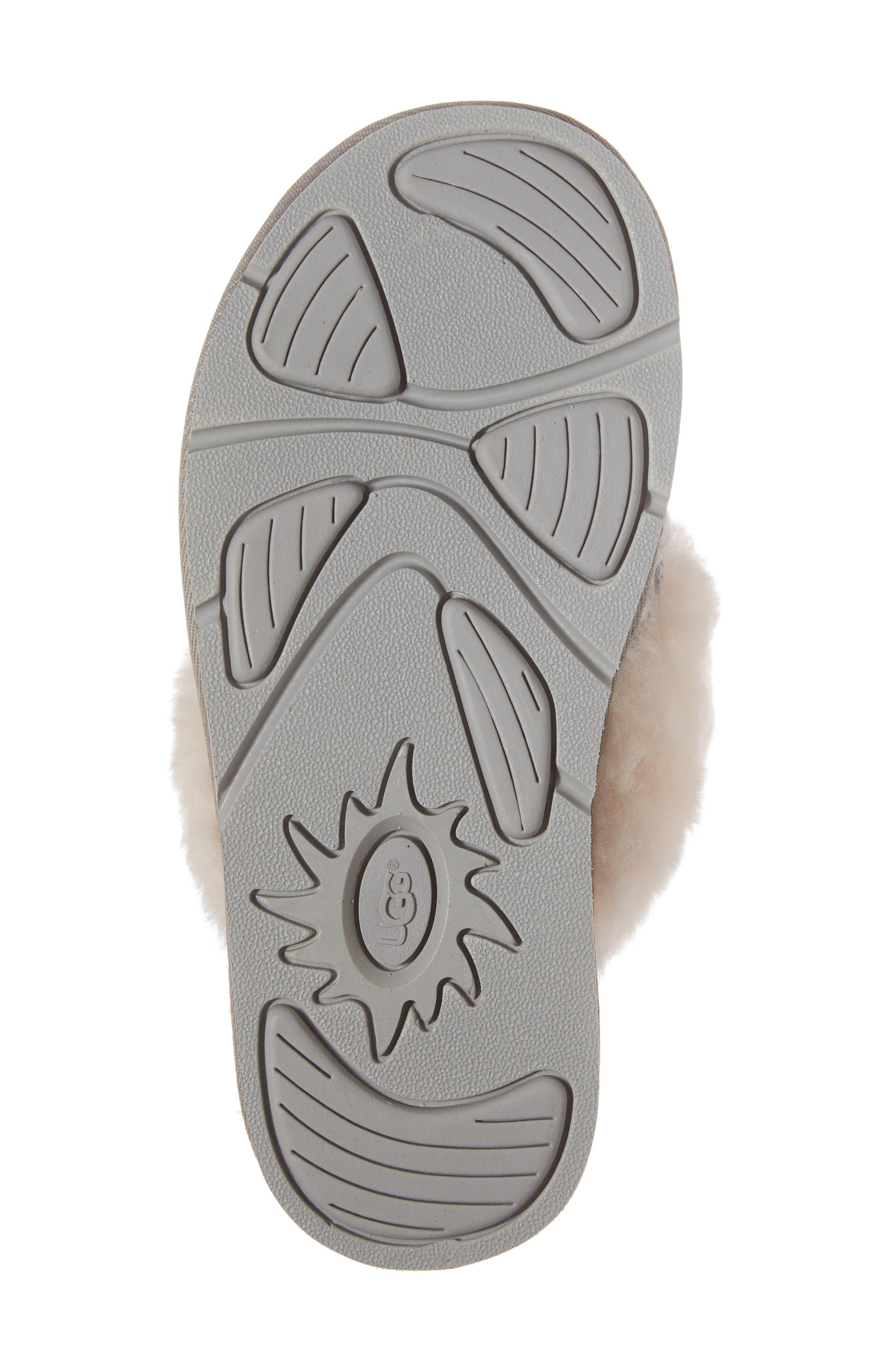 Alternate Image 6  - UGG® Cozy Cable Slipper (Women)