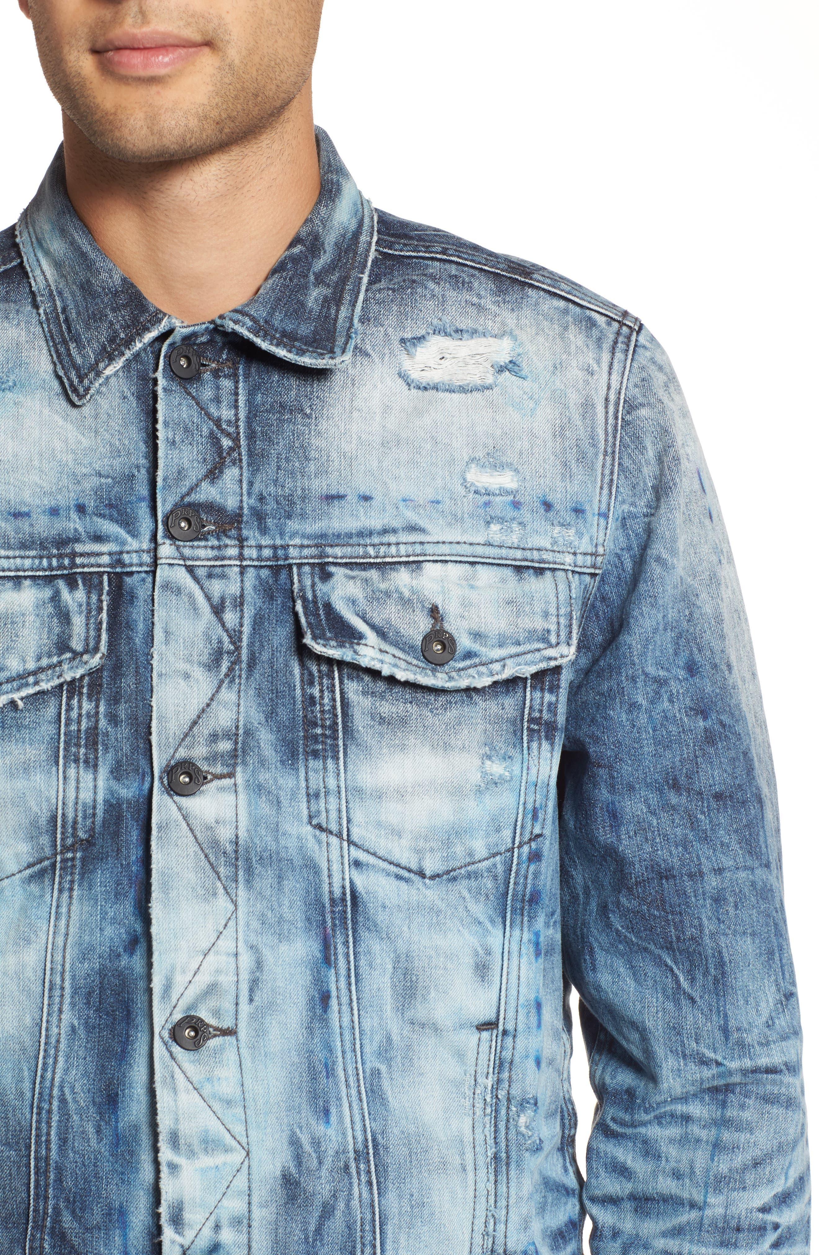 Alternate Image 4  - PRPS Denim Jacket