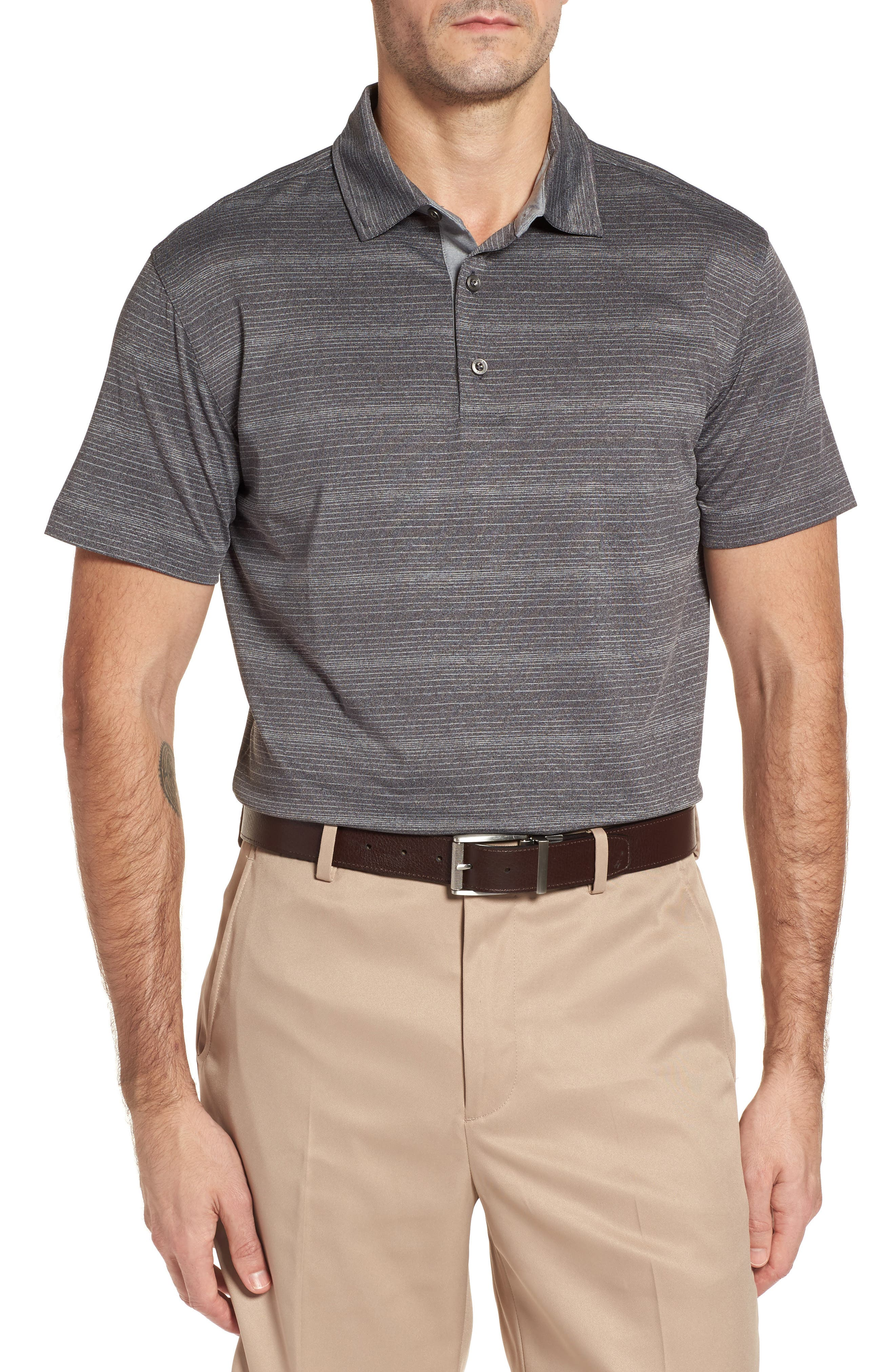 Bobby Jones R18 Tech Static Stripe Polo
