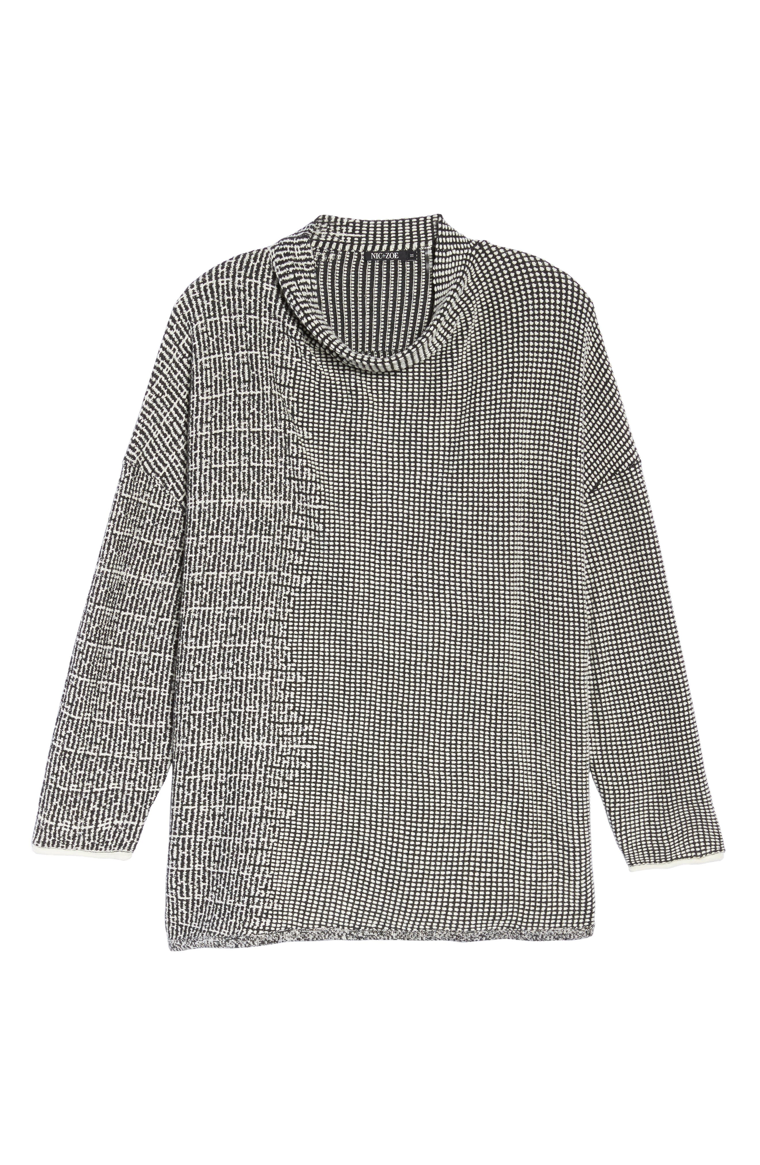 Alternate Image 4  - NIC+ZOE Frosted Fall Sweater (Plus Size)
