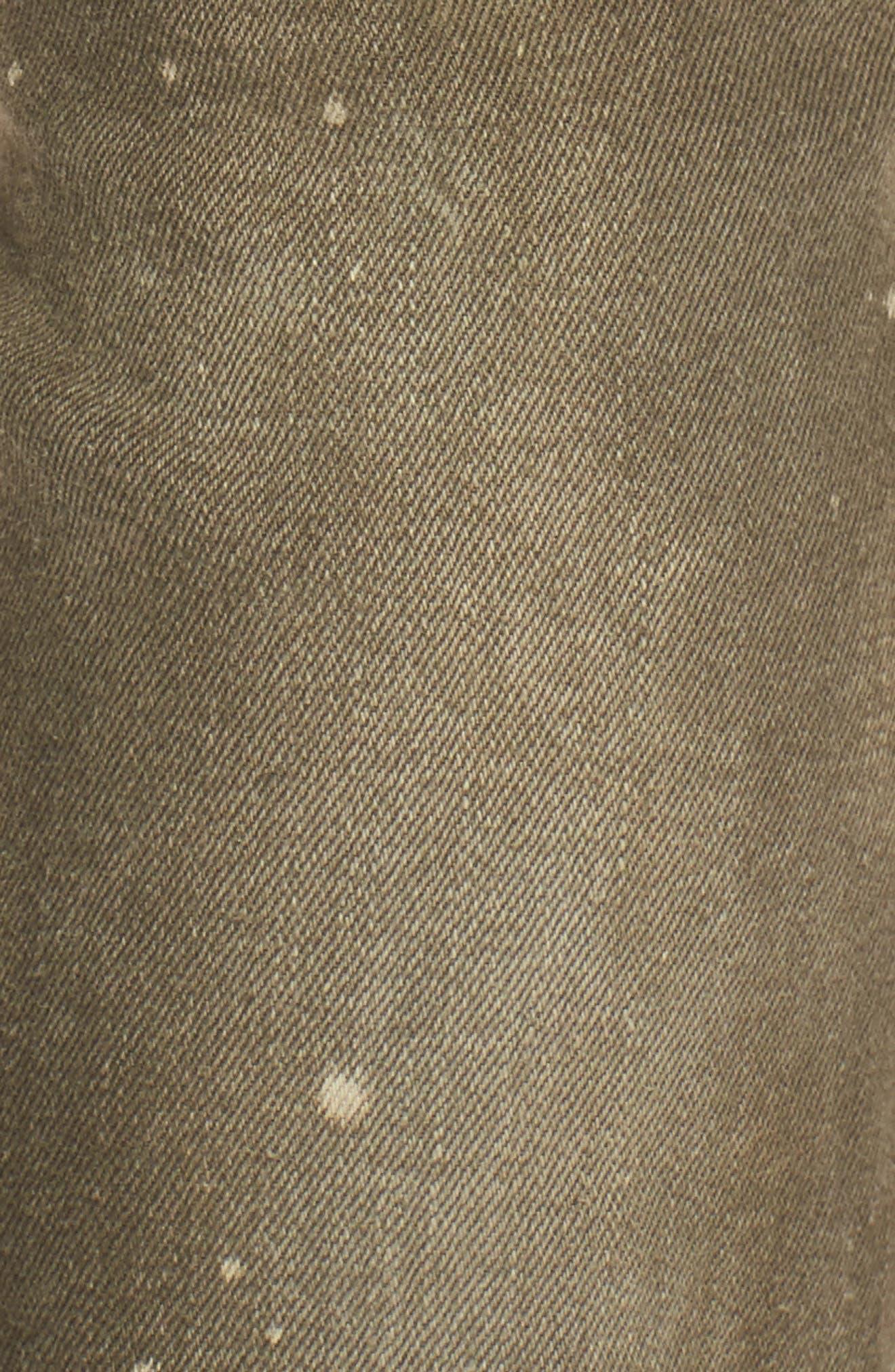 Demon Slim Straight Leg Jeans,                             Alternate thumbnail 5, color,                             Light