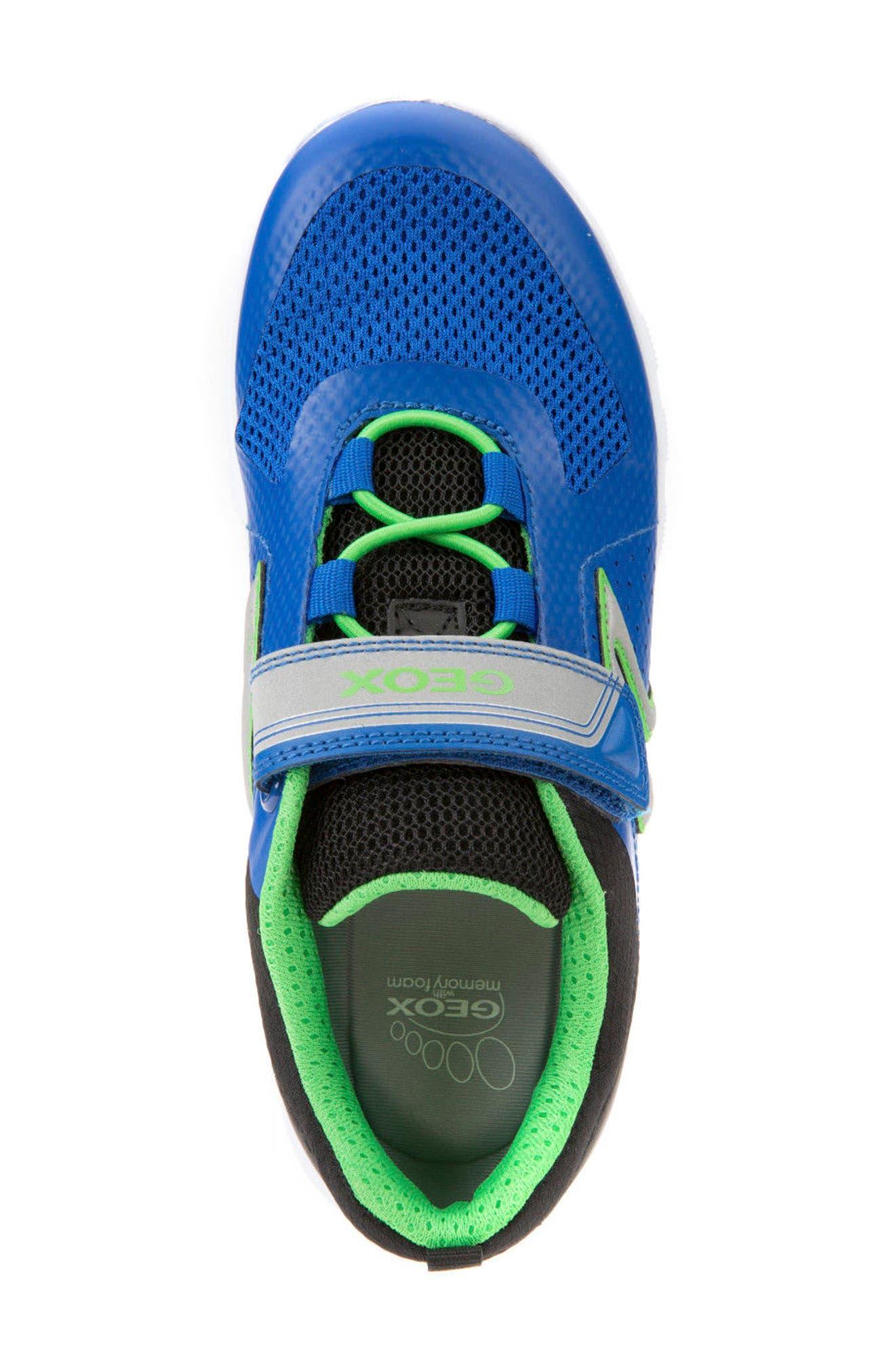 Alternate Image 5  - Geox Xunday Low Top Sneaker (Toddler, Little Kid & Big Kid)