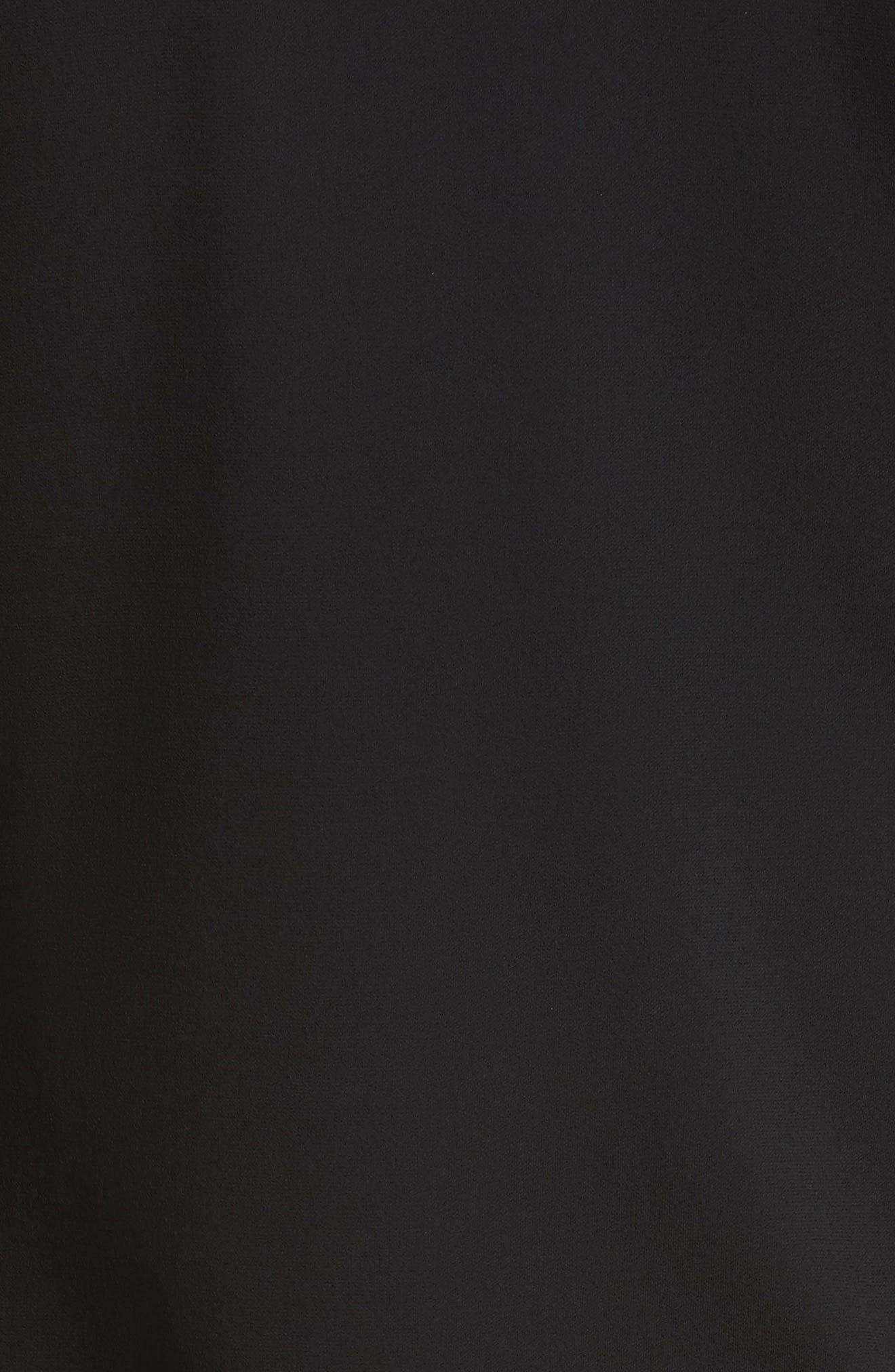 Alternate Image 5  - Saint Laurent Ruched Side Drape Jersey Dress