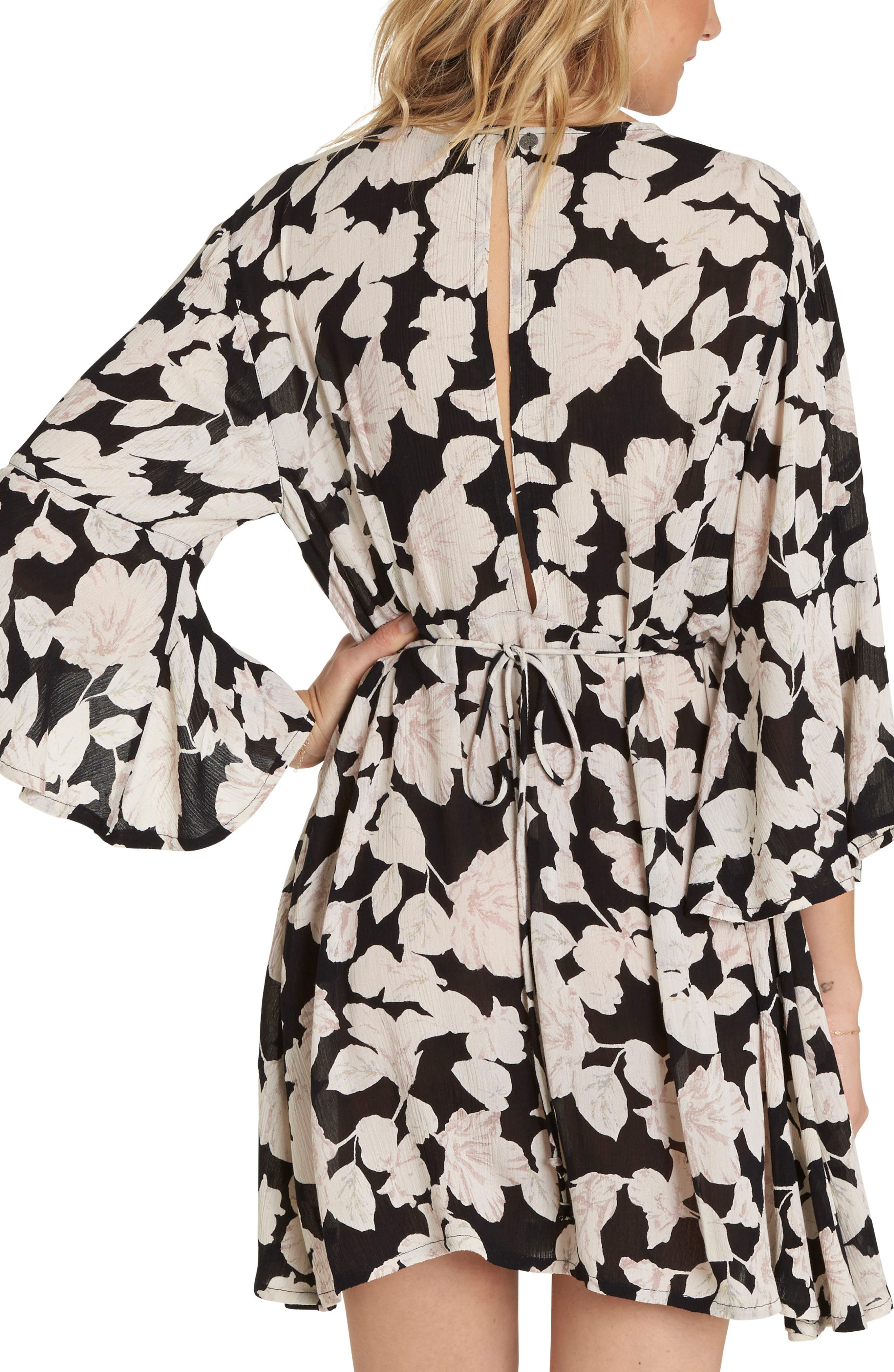 Alternate Image 2  - Billabong Divine Floral Print Dress
