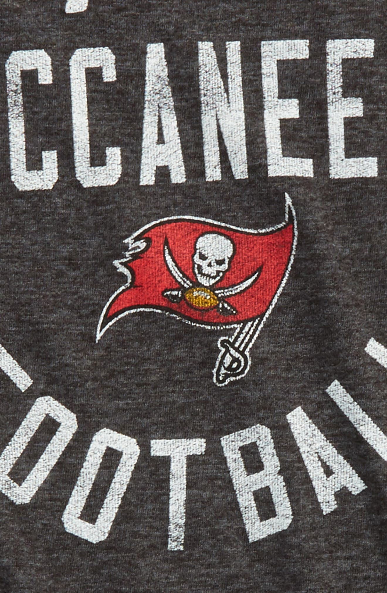 Alternate Image 2  - Outerstuff NFL Tampa Bay Buccaneers Distressed Logo T-Shirt (Big Boys)