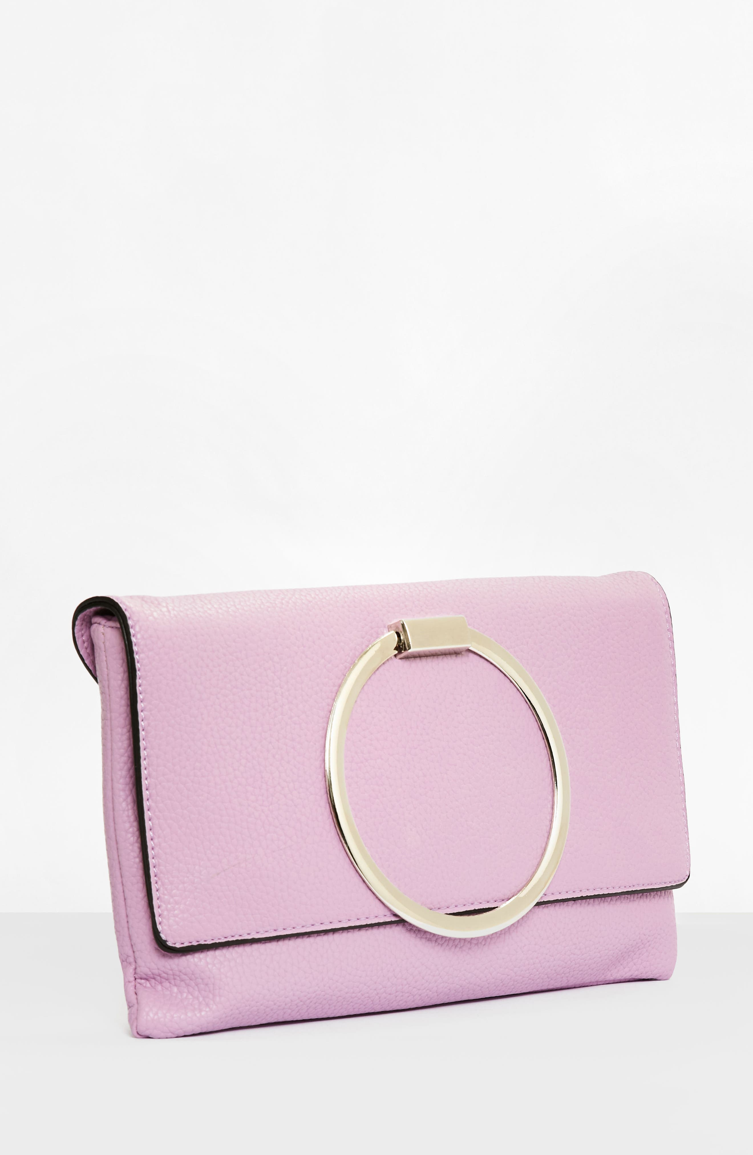 Alternate Image 3  - Missguided Circle Handle Clutch