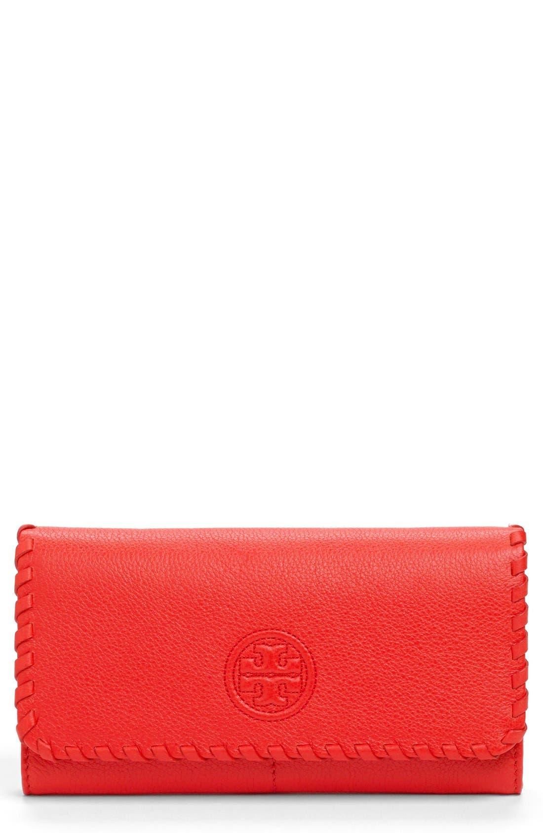 Alternate Image 1 Selected - Tory Burch 'Marion' Envelope Wallet