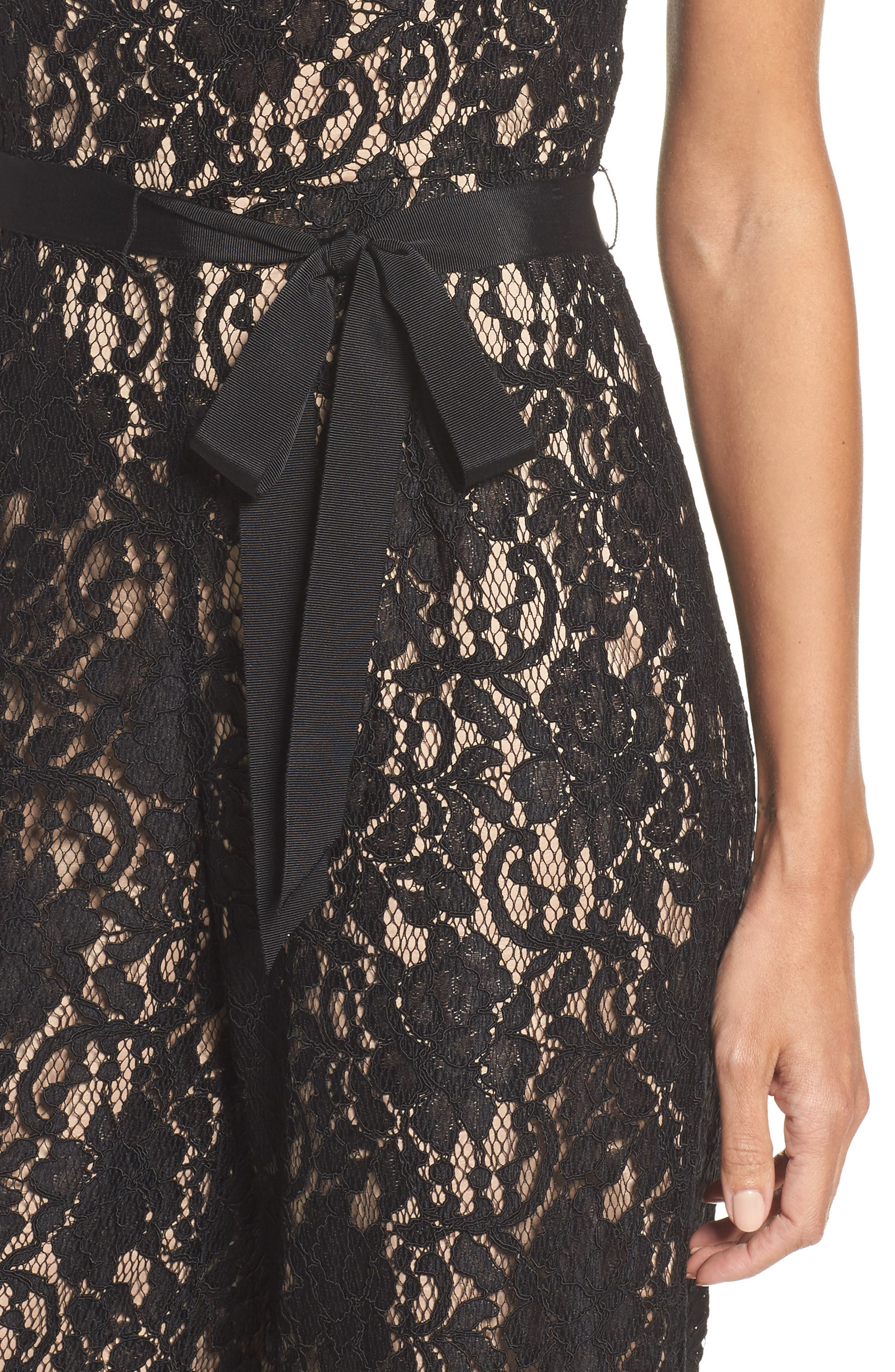 Alternate Image 4  - Adrianna Papell Lace Jumpsuit