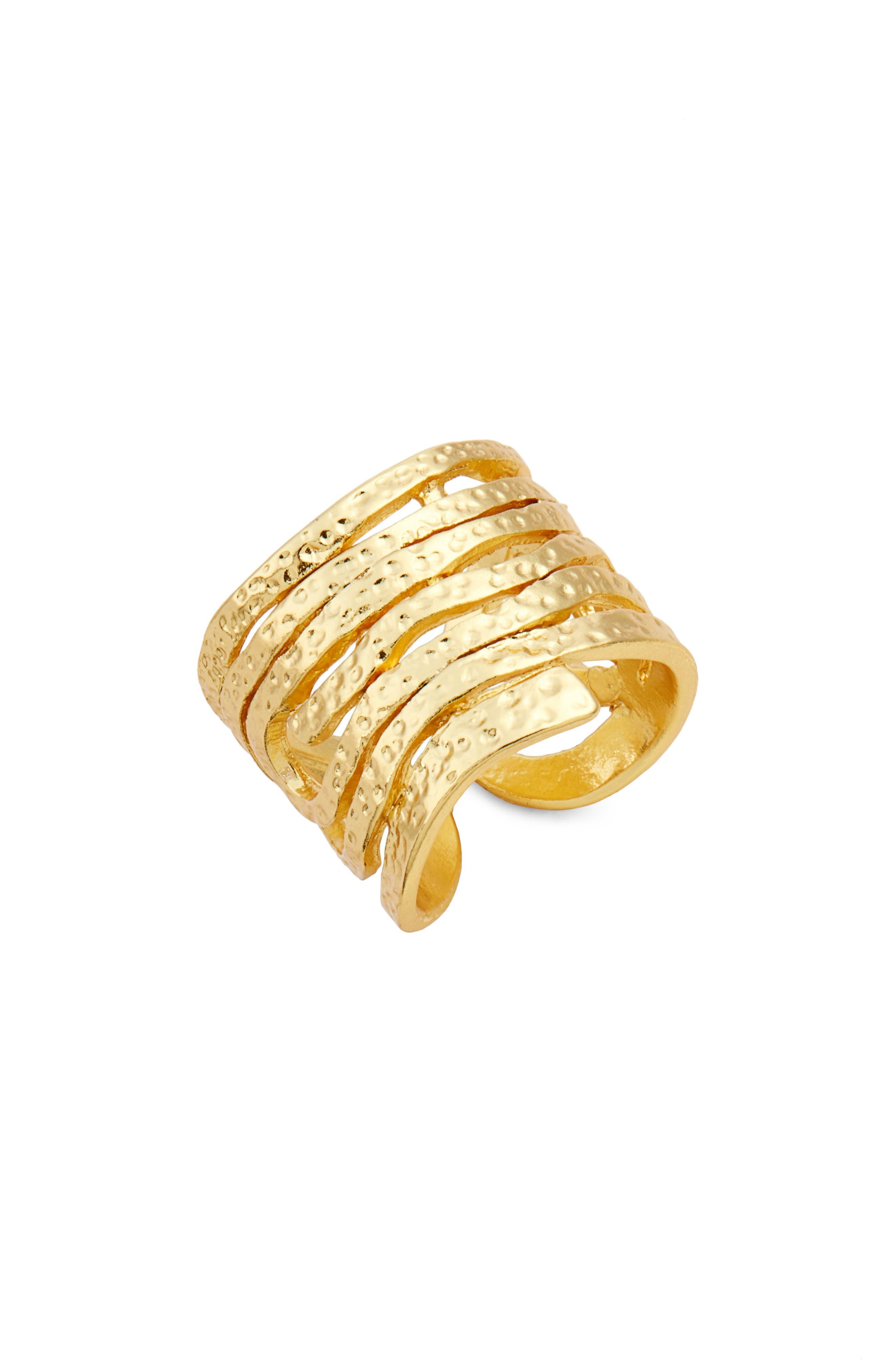 Karine Sultan Angelina Stack Ring