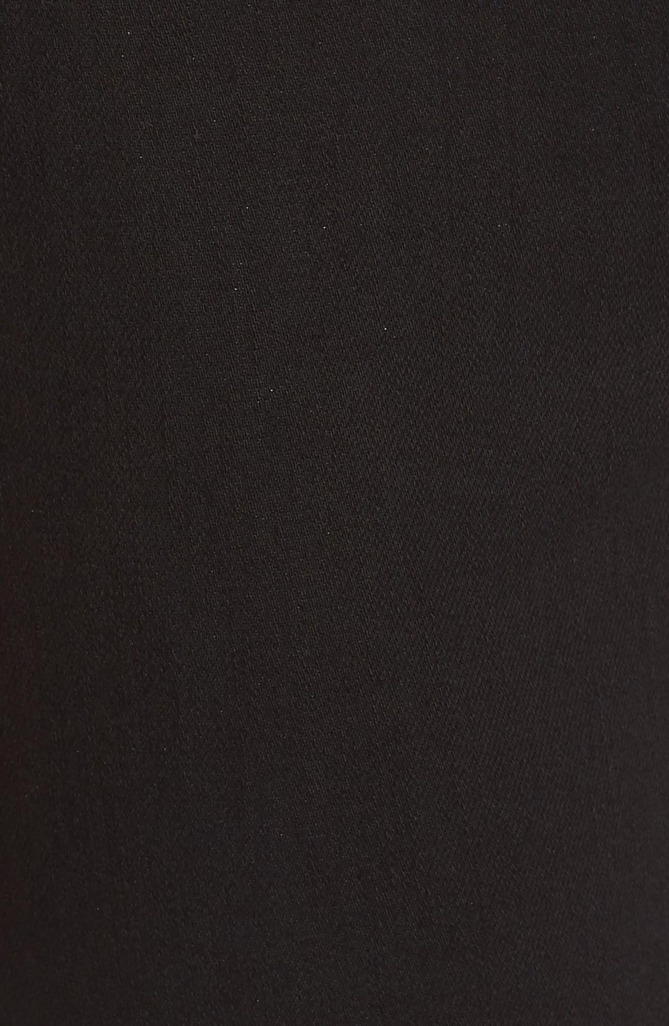 Alternate Image 5  - True Religion Brand Jeans Jennie Curvy Runway Leggings (Body Rinse Black)