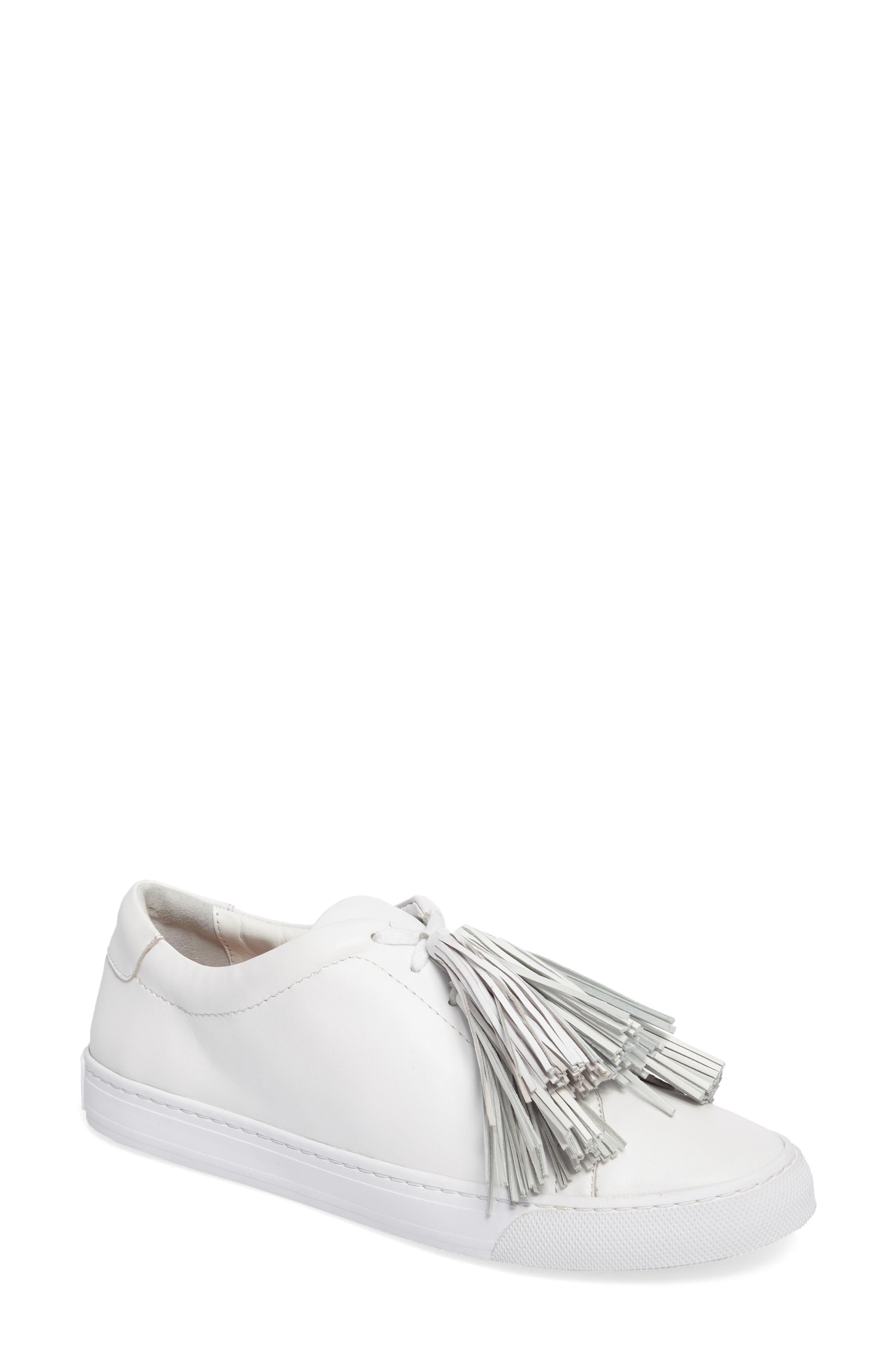 Logan Sneaker,                         Main,                         color, Optic White