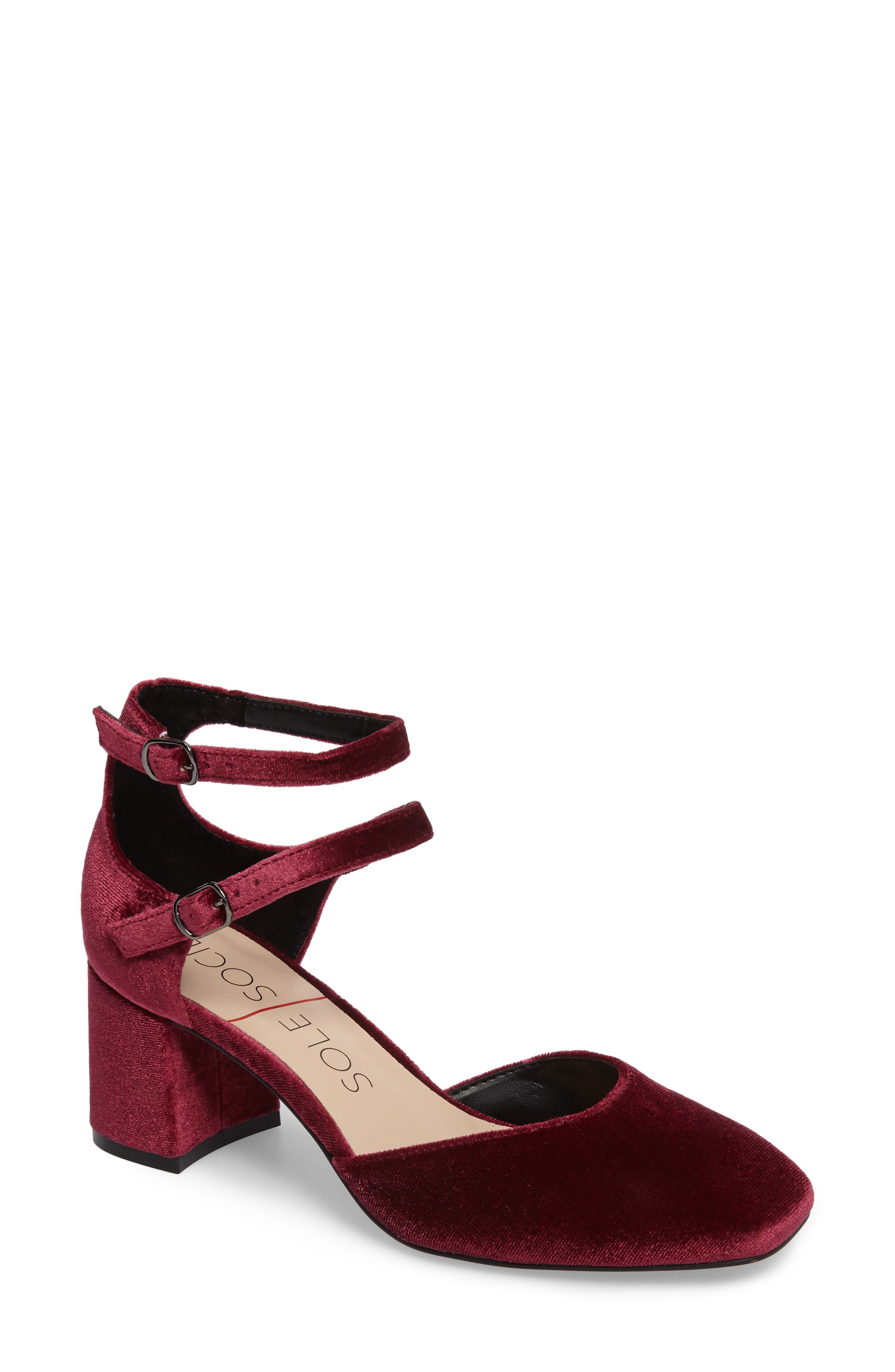 Sole Society Selby Double Strap Pump (Women)