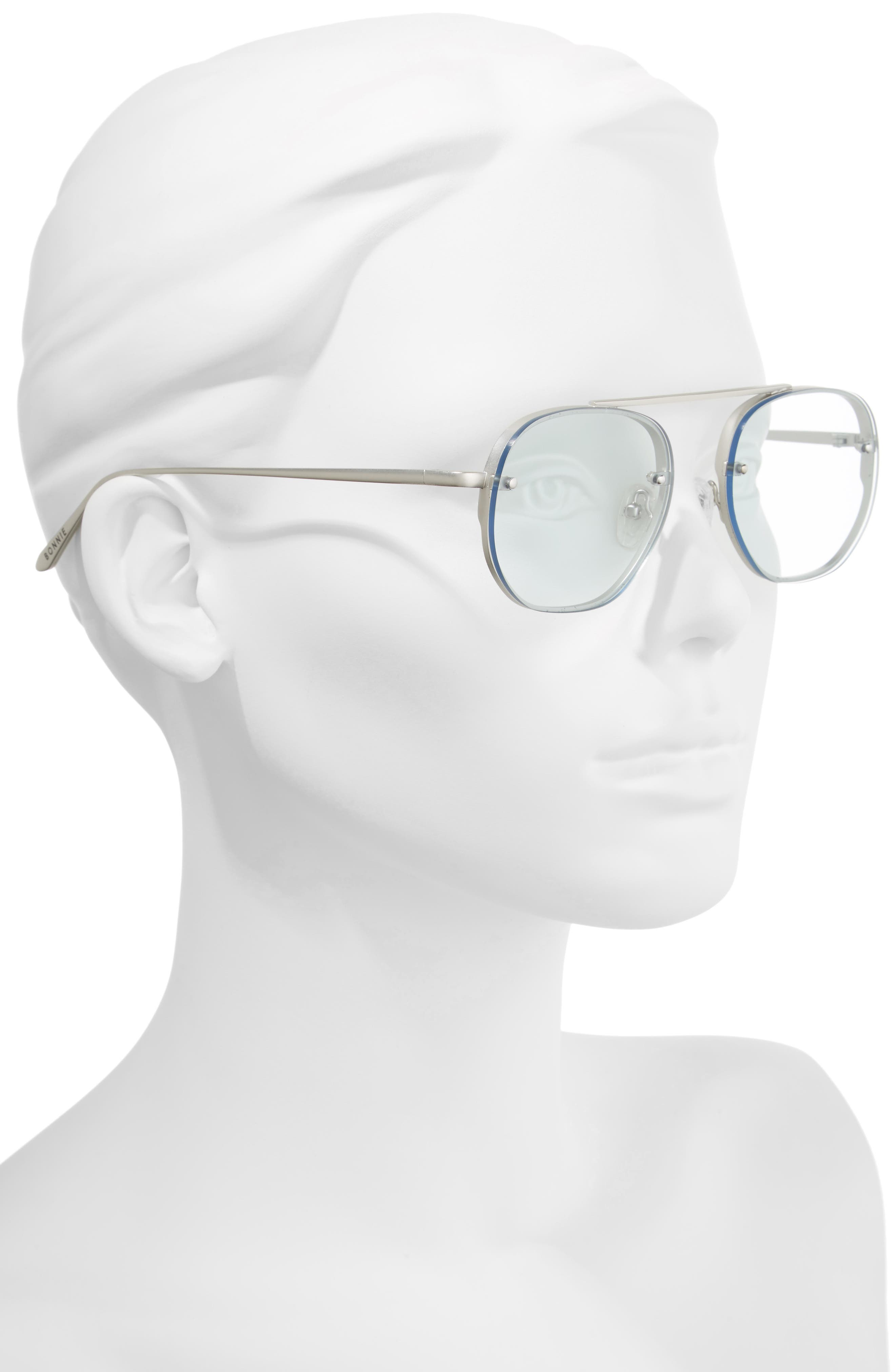 Alternate Image 2  - Bonnie Clyde Traction 52mm Aviator Sunglasses
