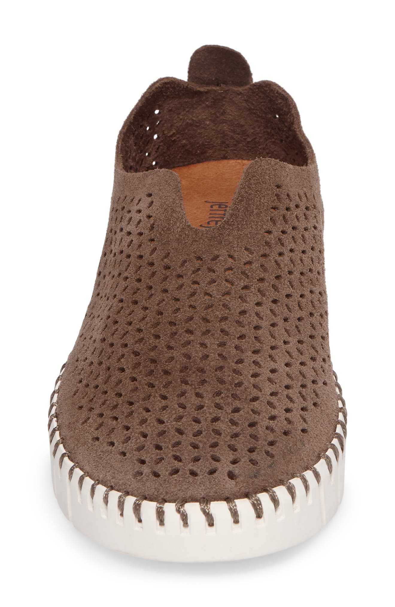 Alternate Image 4  - Jeffrey Campbell Tiles Perforated Slip-On Sneaker (Women)