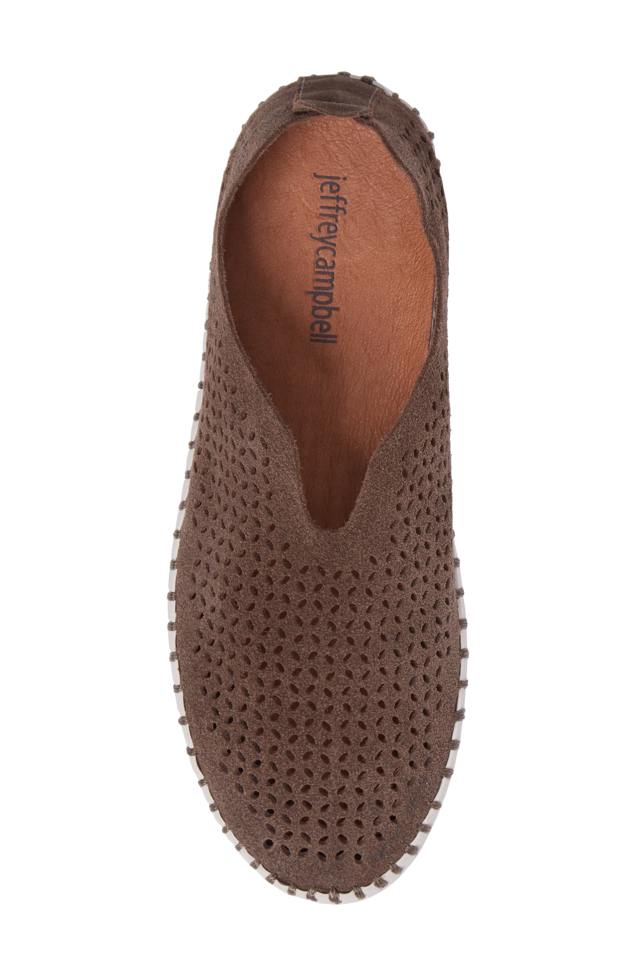 Alternate Image 5  - Jeffrey Campbell Tiles Perforated Slip-On Sneaker (Women)