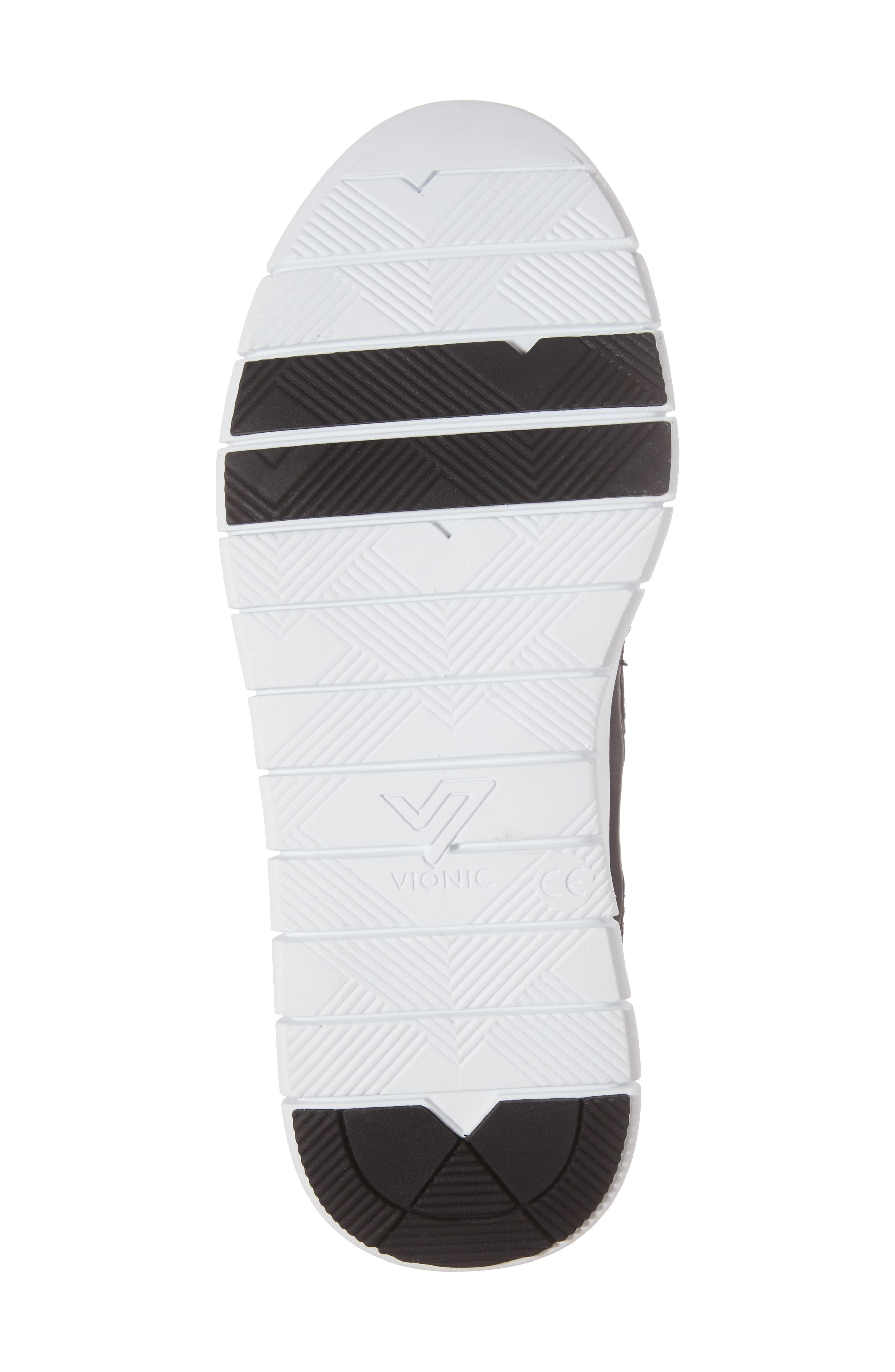 Kenley Sneaker,                             Alternate thumbnail 6, color,                             Black Suede
