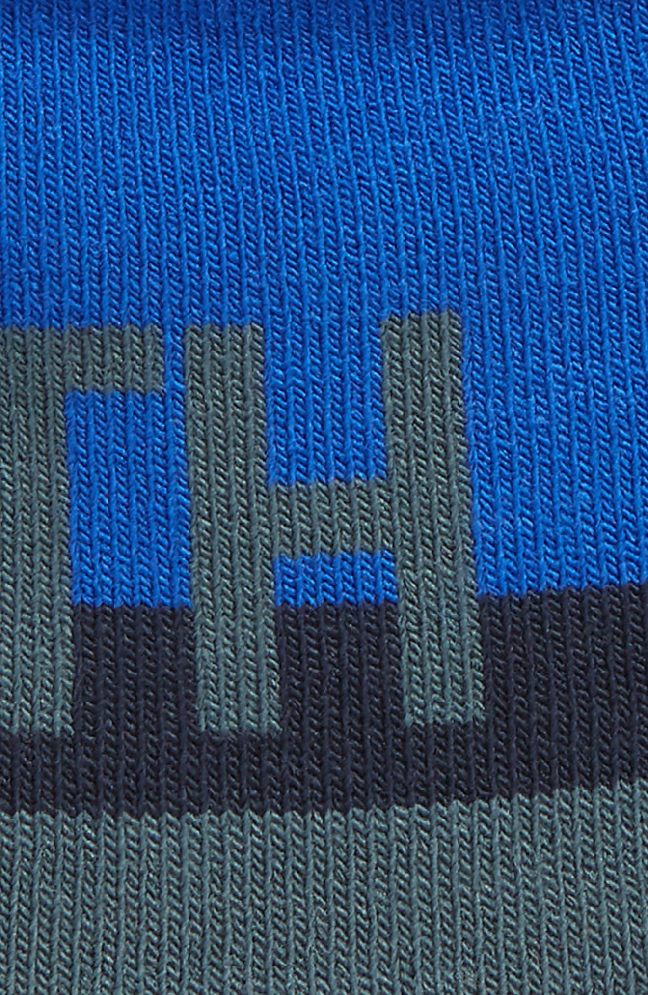 Anders Reversible Beanie,                             Alternate thumbnail 2, color,                             Cosmic Blue/ Cobalt Blue