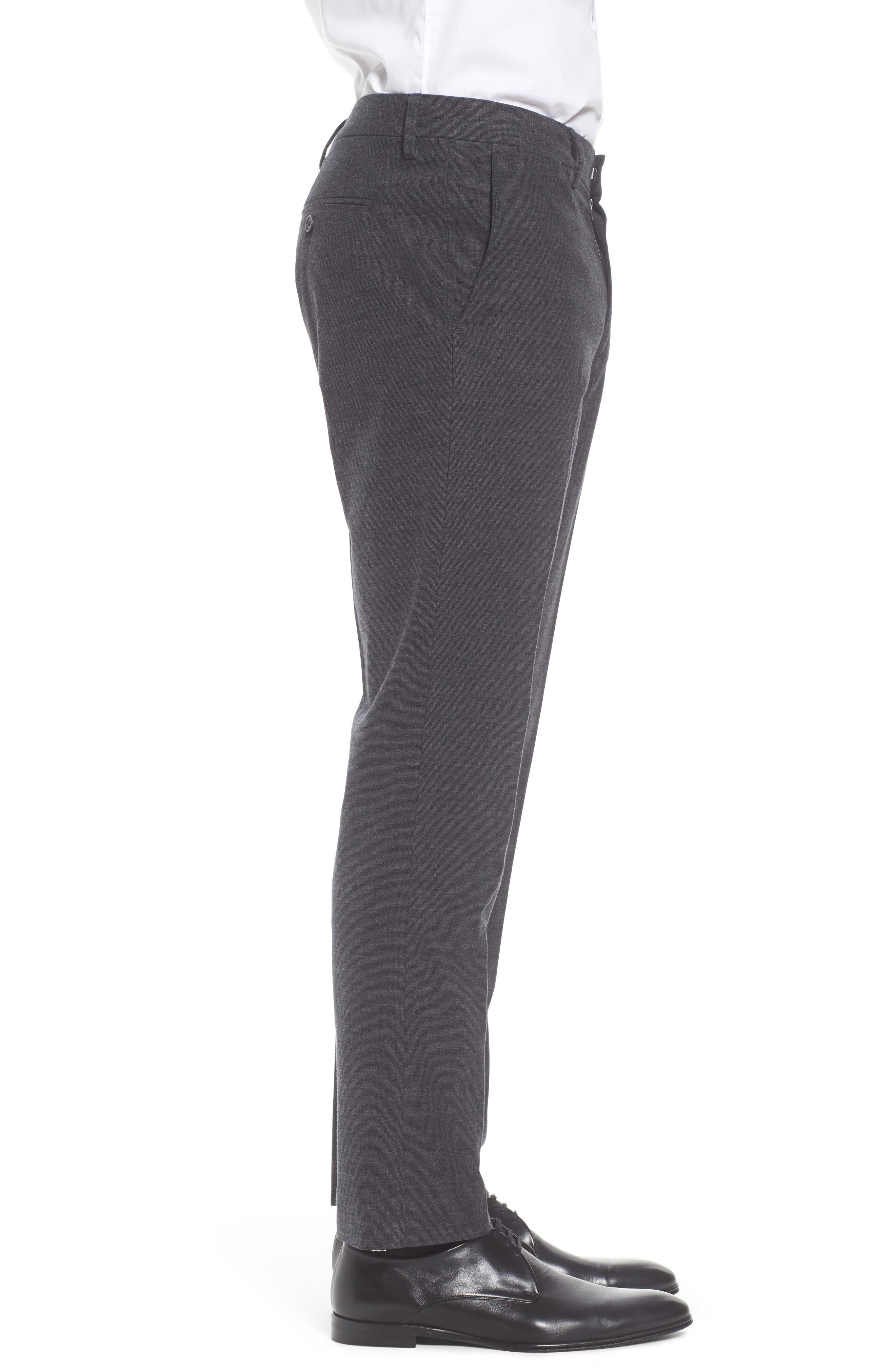 Alternate Image 3  - Bonobos Foundation Slim Fit Trousers