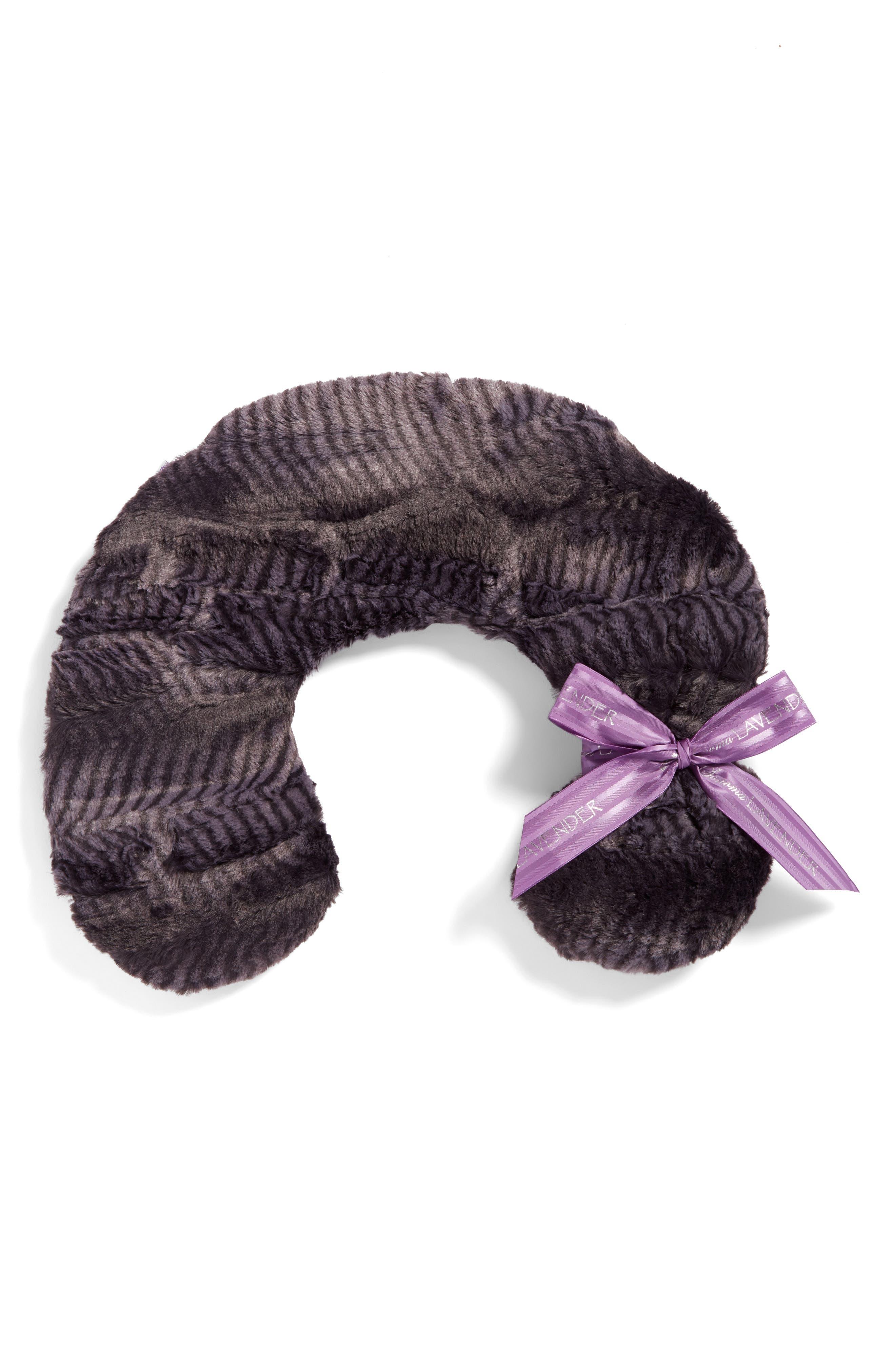 Main Image - Sonoma Lavender Mamba Black Neck Pillow