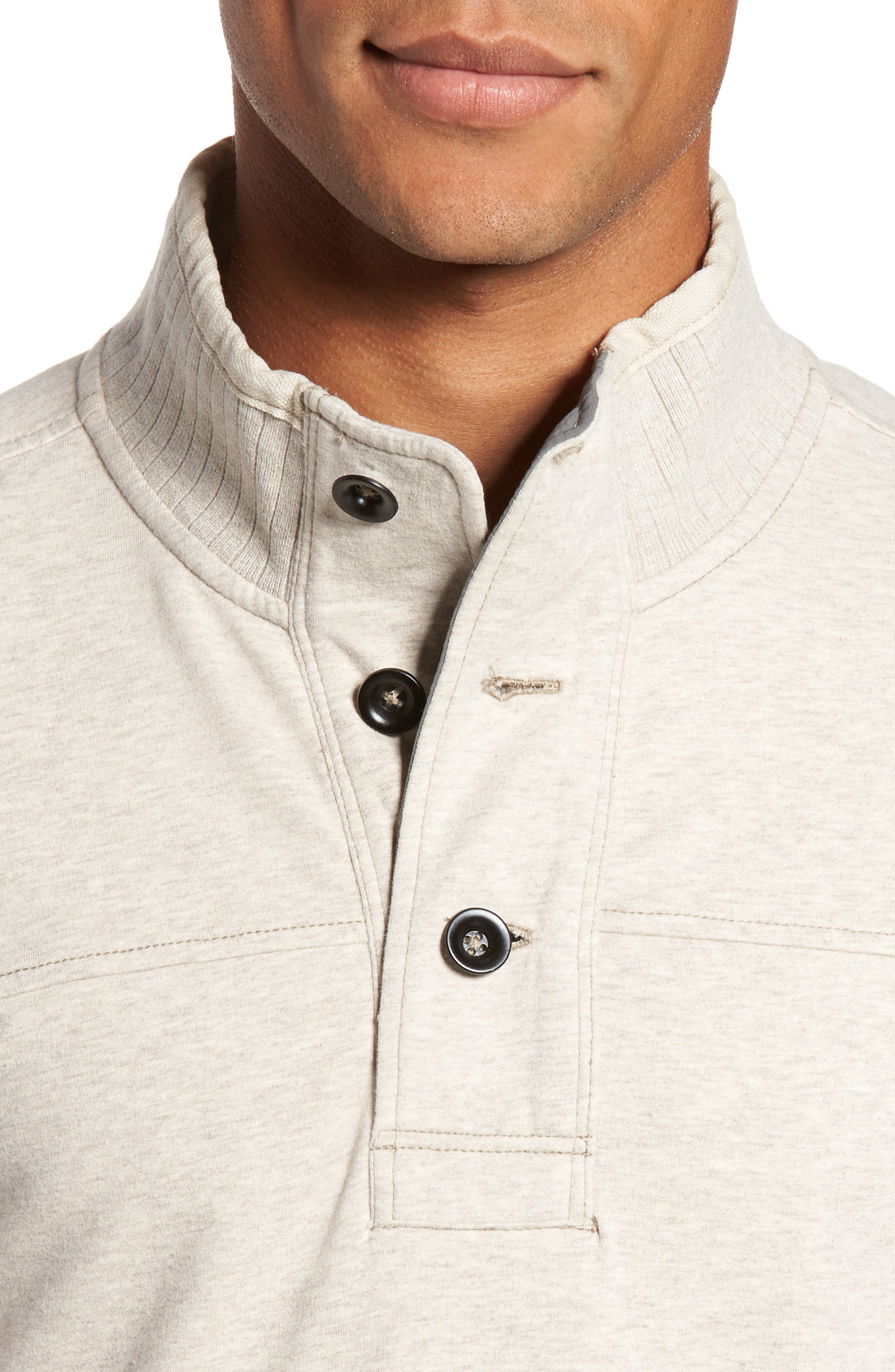 Alternate Image 4  - Jeremiah Taylor Quarter Button Pullover