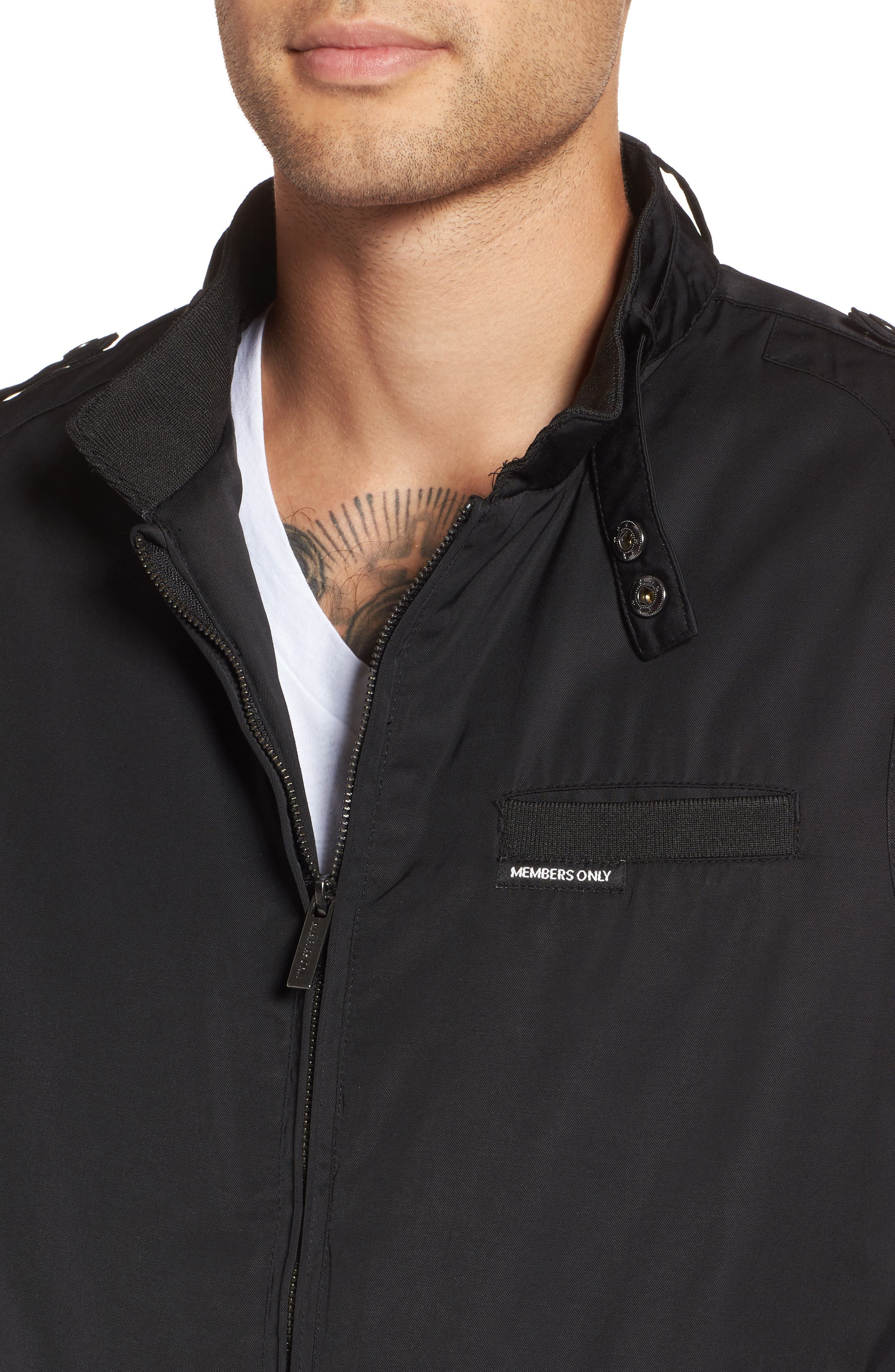 Alternate Image 4  - Members Only Twill Iconic Jacket