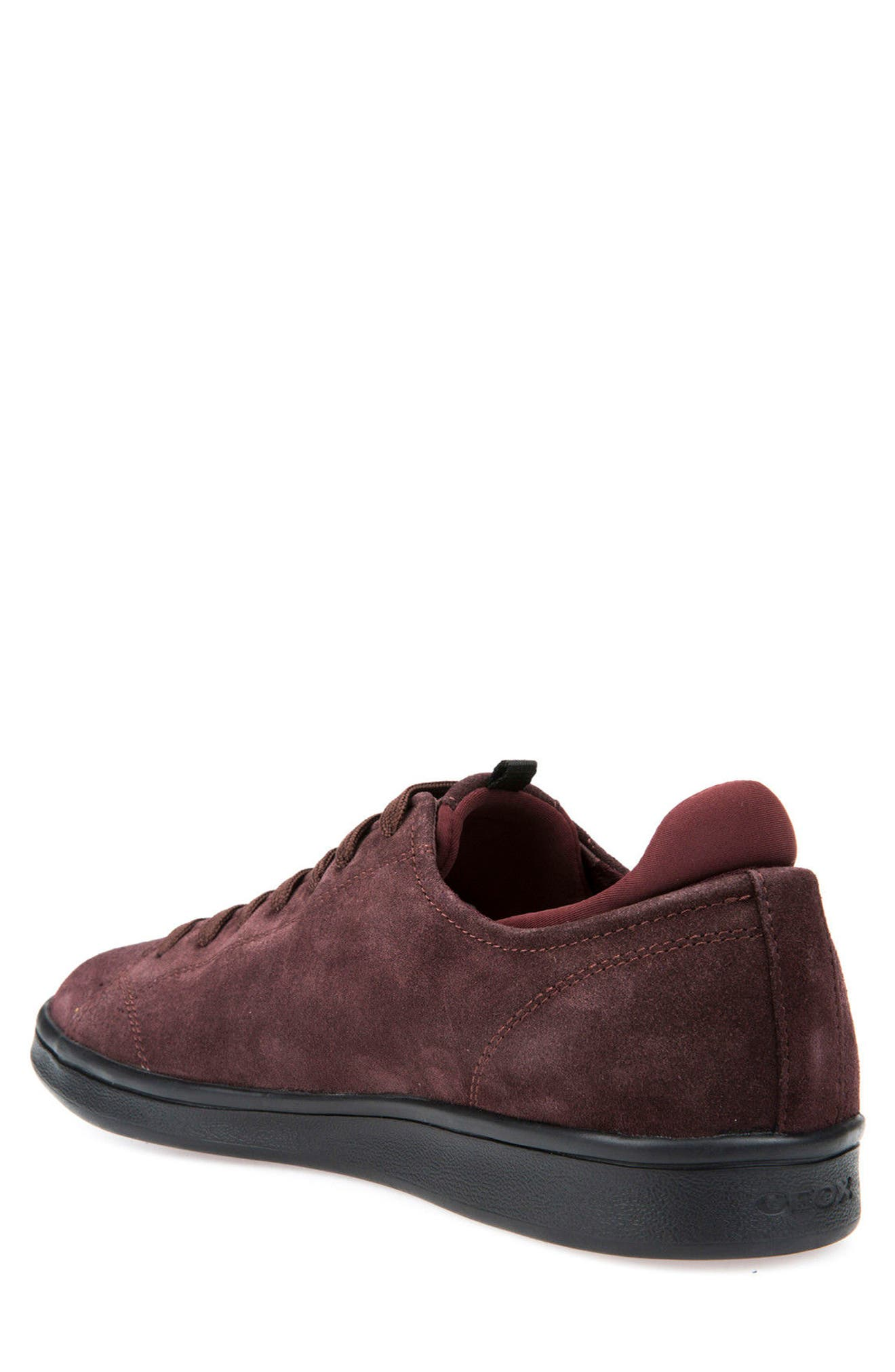 Warrens 8 Low-Top Sneaker,                             Alternate thumbnail 2, color,                             Bordeaux