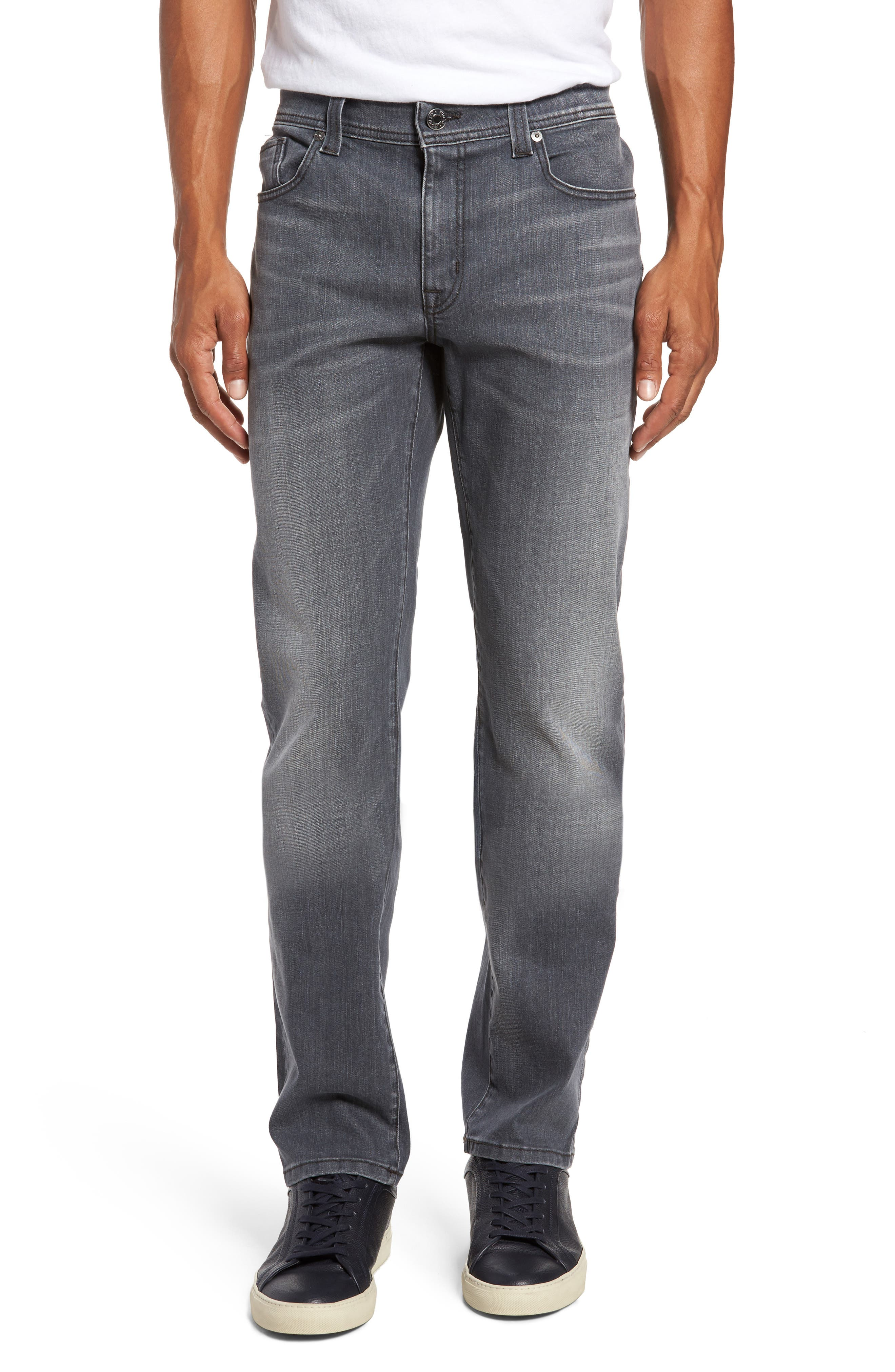 Jimmy Slim Straight Fit Jeans,                             Main thumbnail 1, color,                             Steelo Vintage