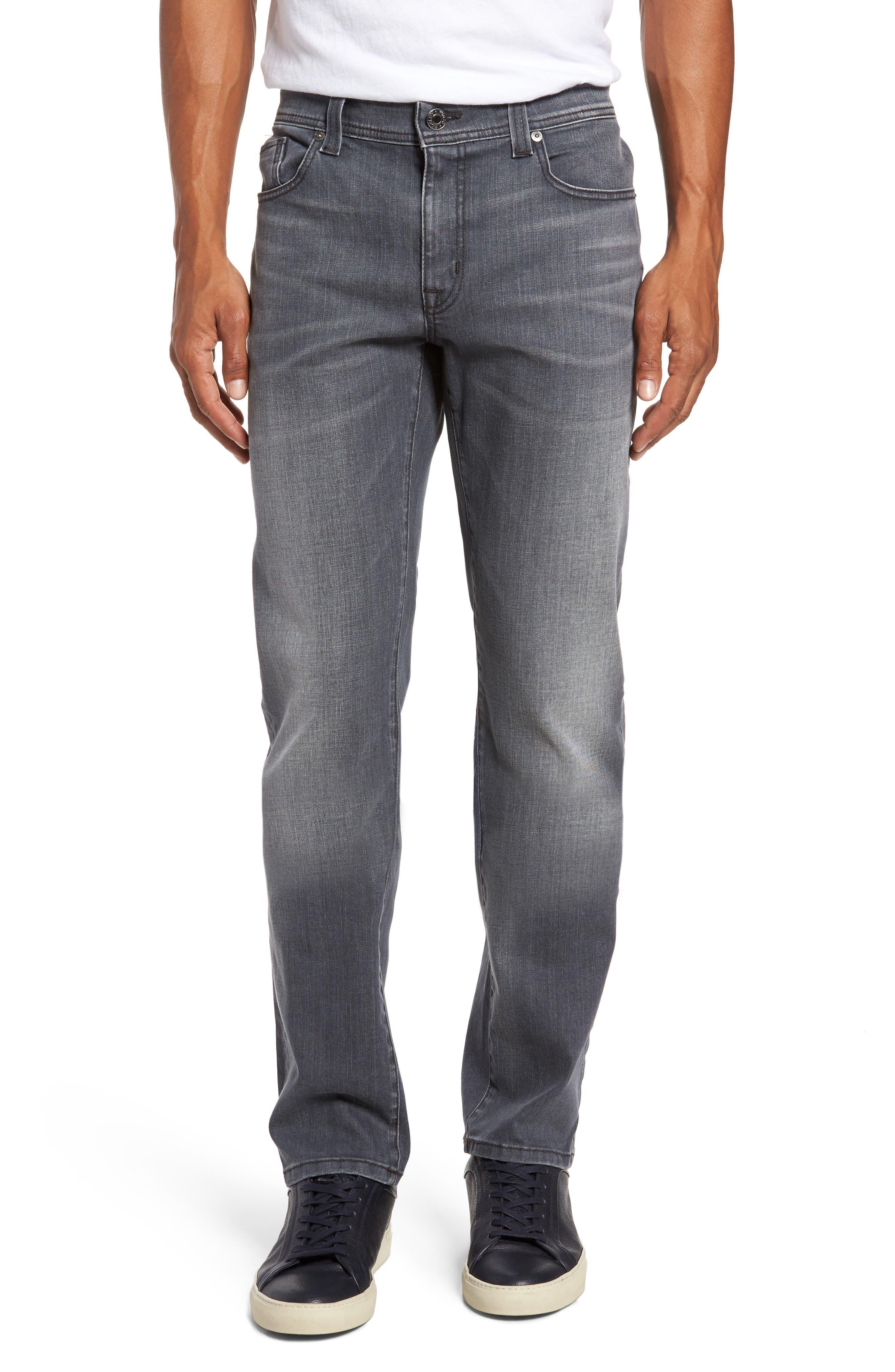 Main Image - Fidelity Denim Jimmy Slim Straight Fit Jeans (Steelo Vintage)