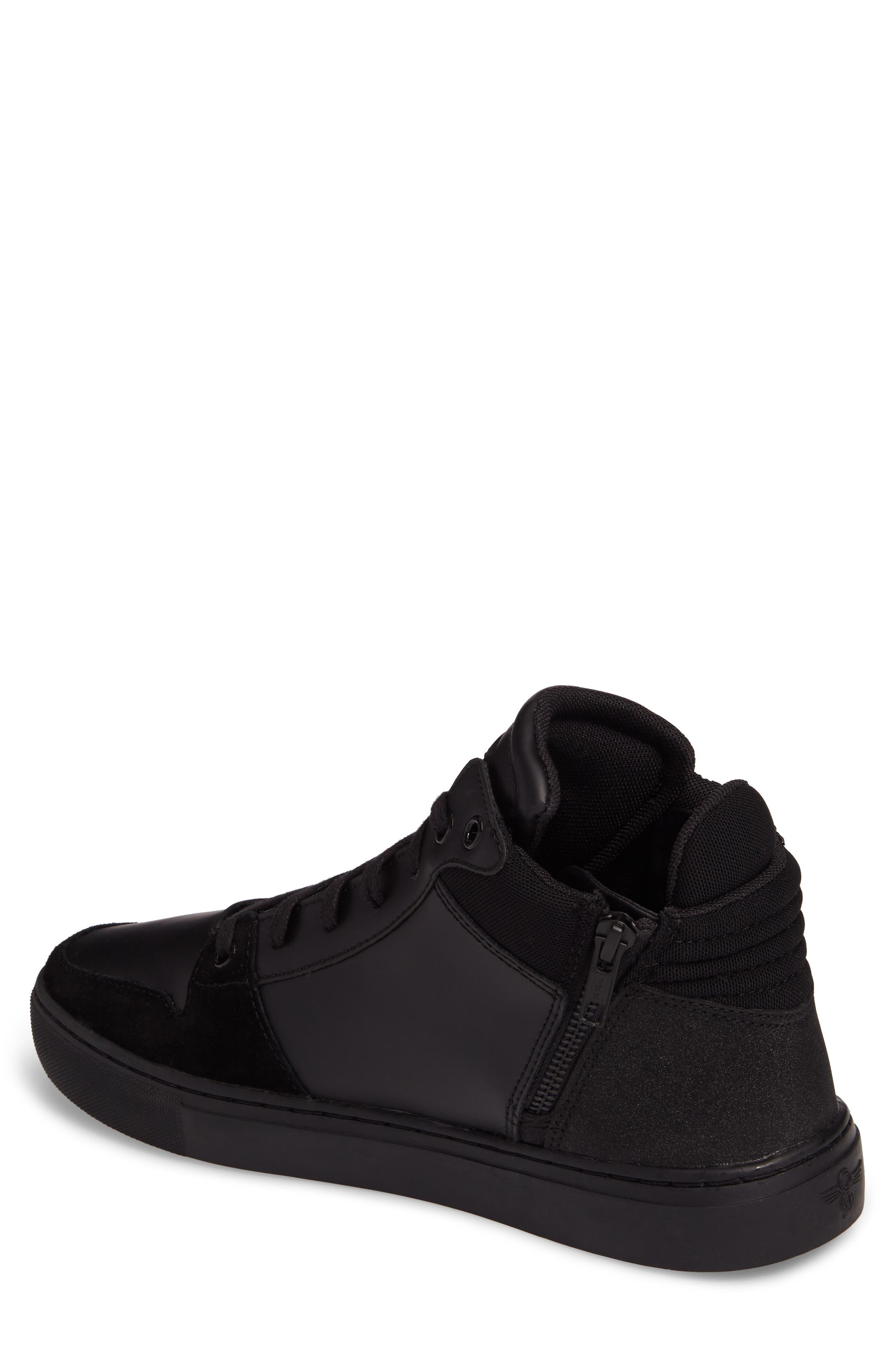 Modena Sneaker,                             Alternate thumbnail 2, color,                             Black Tech