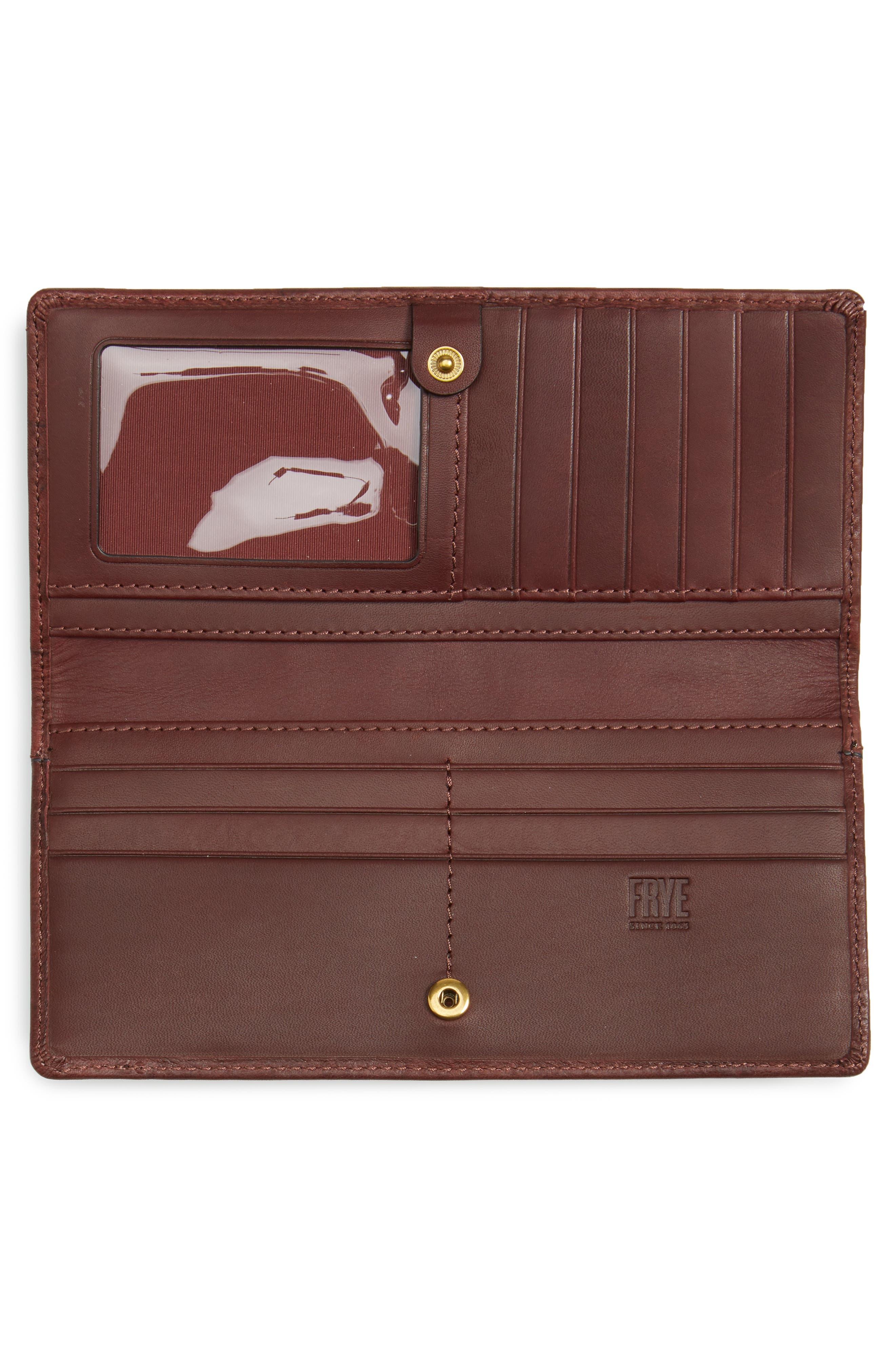 Alternate Image 2  - Frye Campus Rivet Slim Leather Wallet
