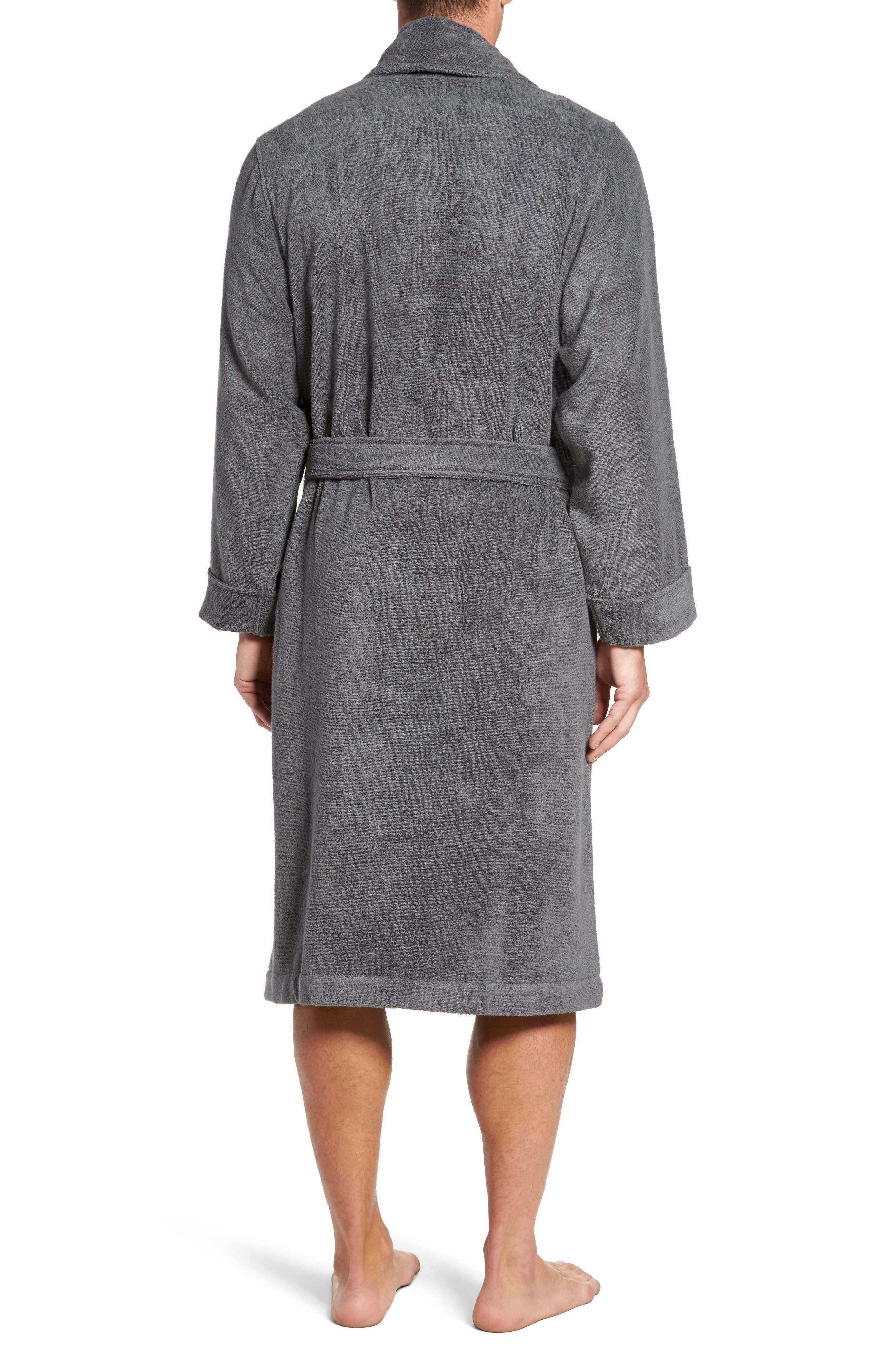 Alternate Image 2  - Nordstrom Men's Shop Hydro Cotton Terry Robe