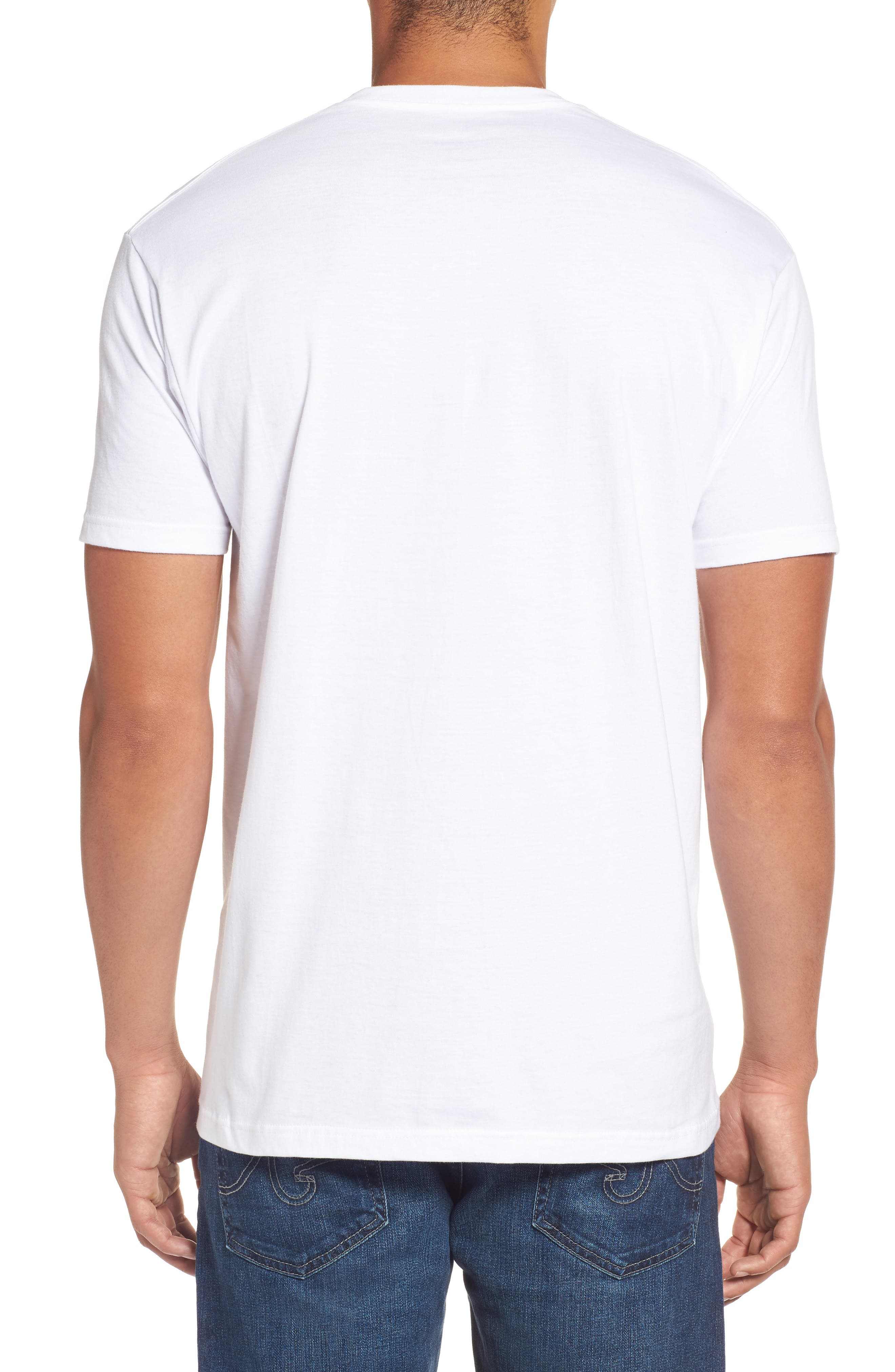 Alternate Image 2  - Rip Curl Born in the USA Logo Graphic T-Shirt