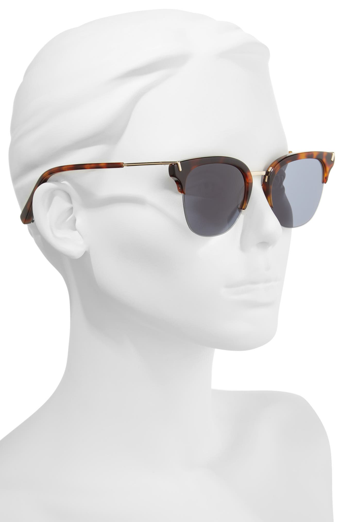 Alternate Image 2  - Elizabeth and James Burke 52mm Horn Rimmed Sunglasses