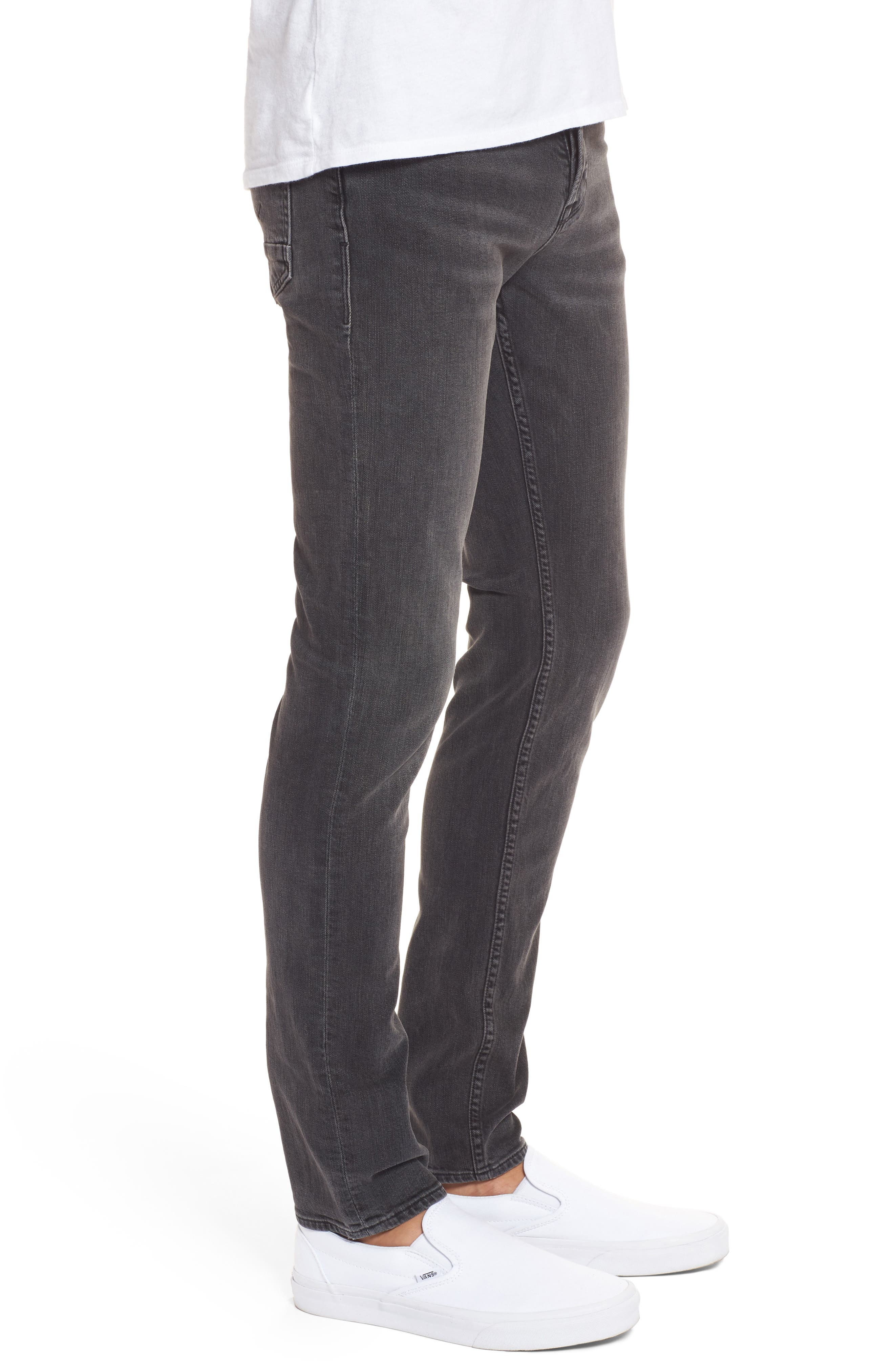Axl Skinny Fit Jeans,                             Alternate thumbnail 3, color,                             Oxidize