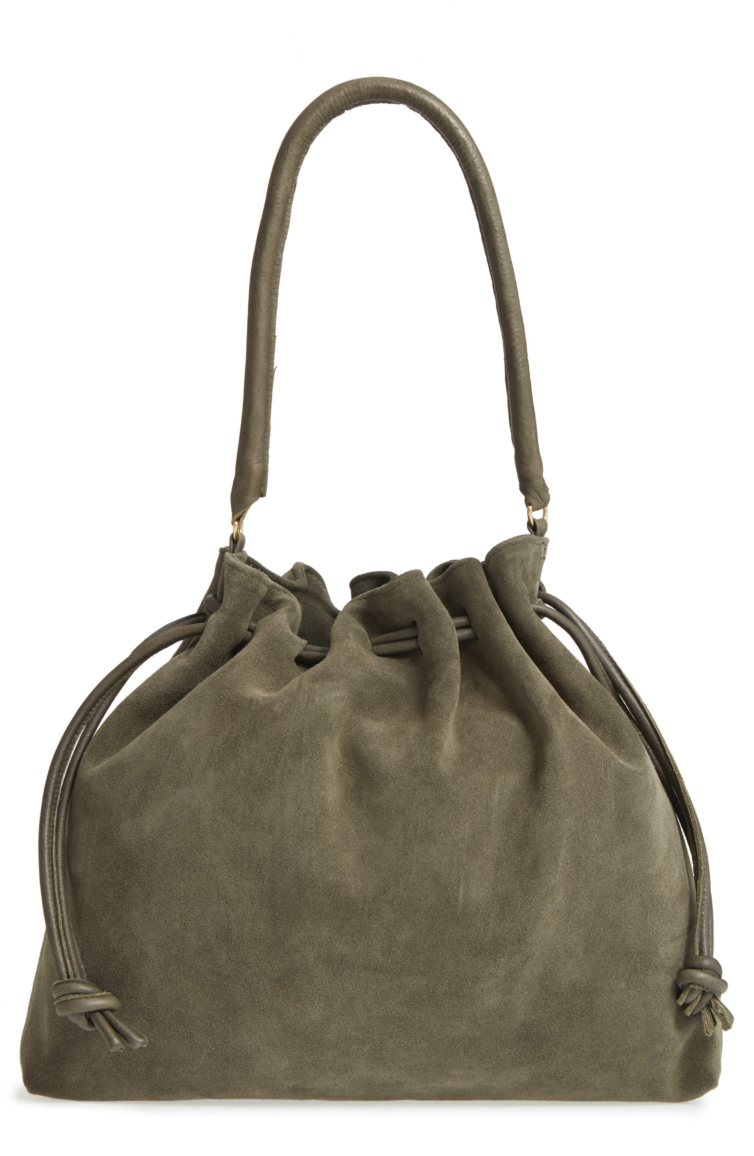 Clare V. Henri Suede Bucket Bag