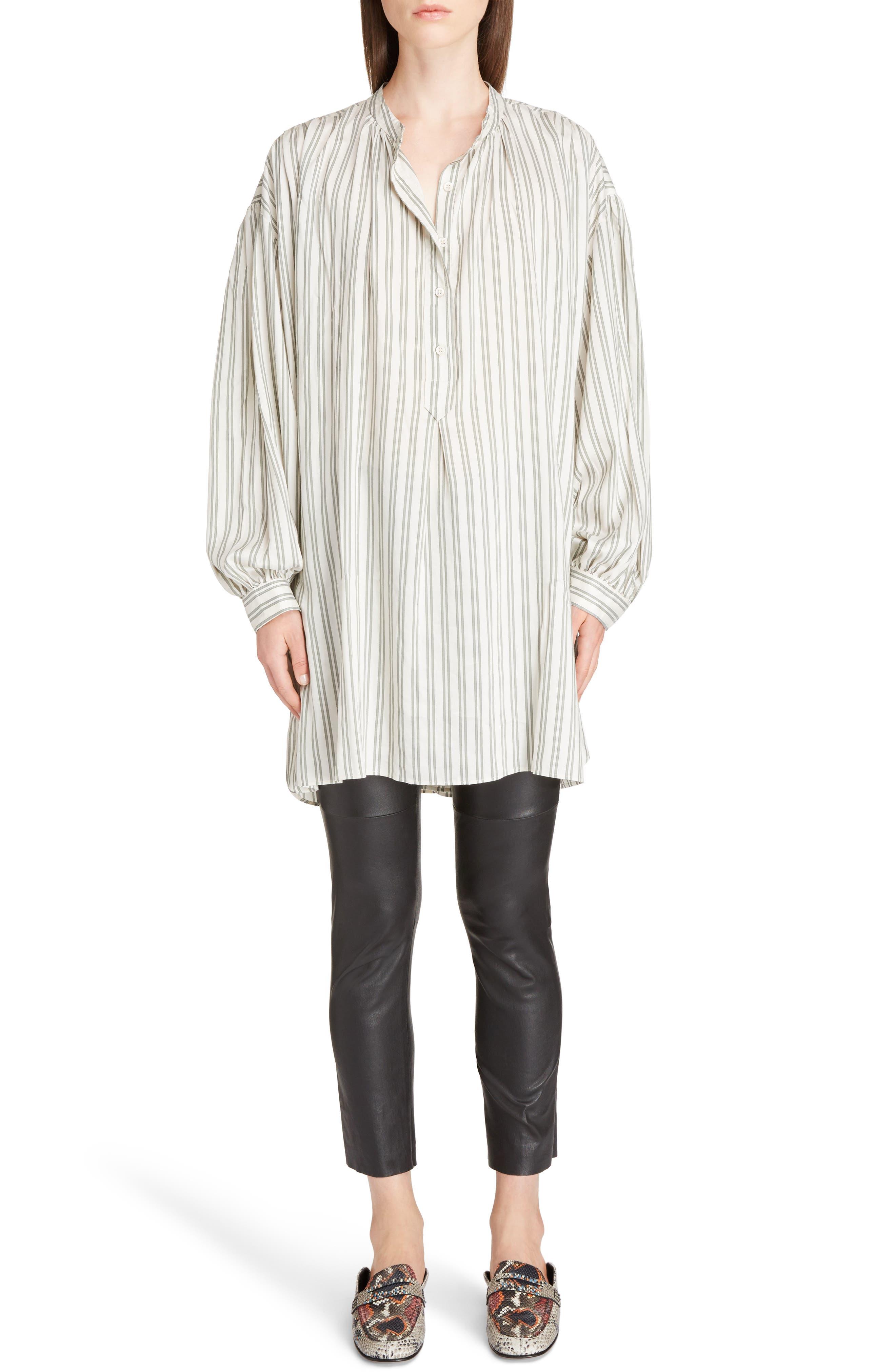 Alternate Image 6  - Isabel Marant Idoa Stripe Tunic