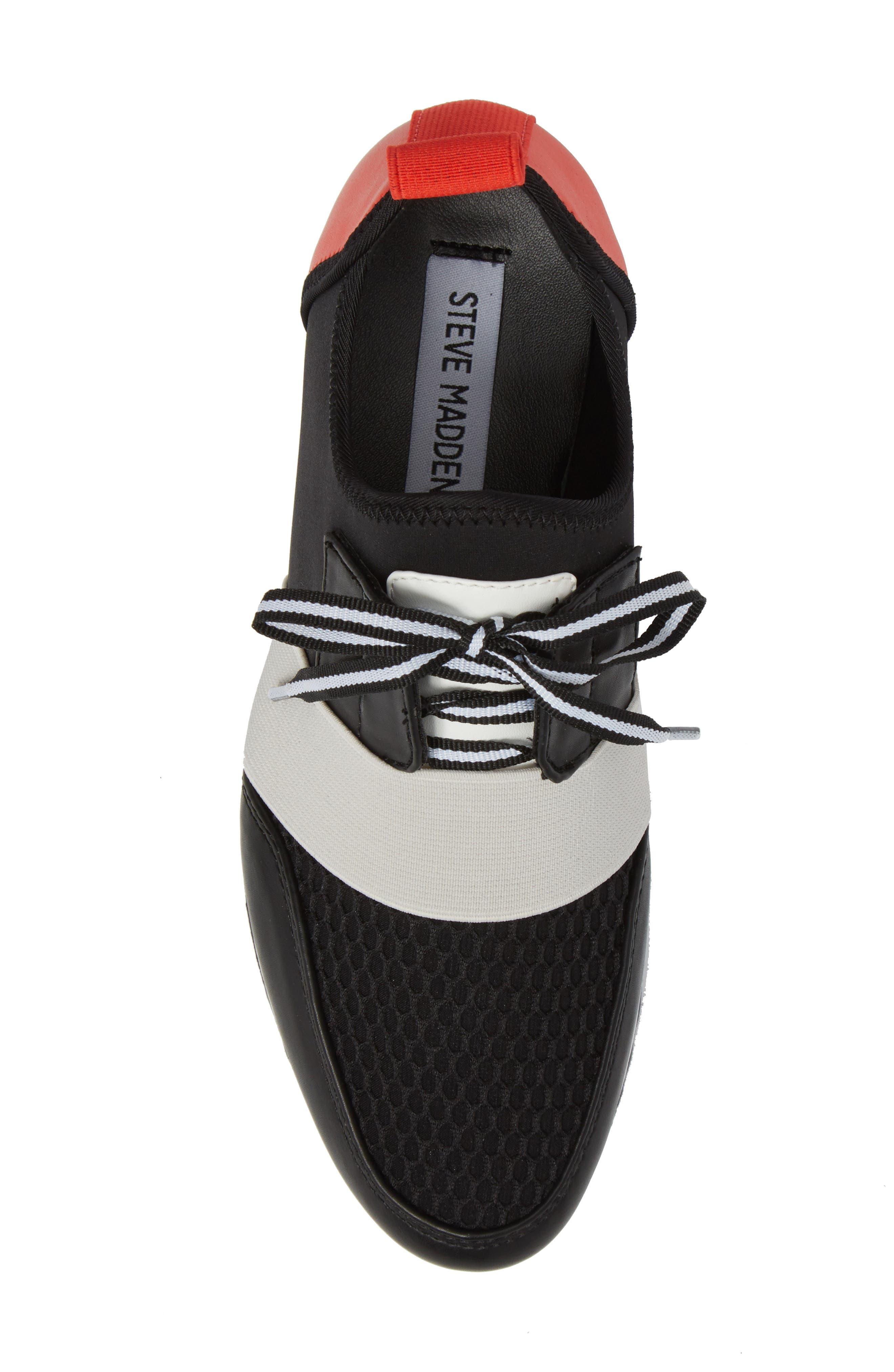 Alternate Image 5  - Steve Madden Antics Sneaker (Women)